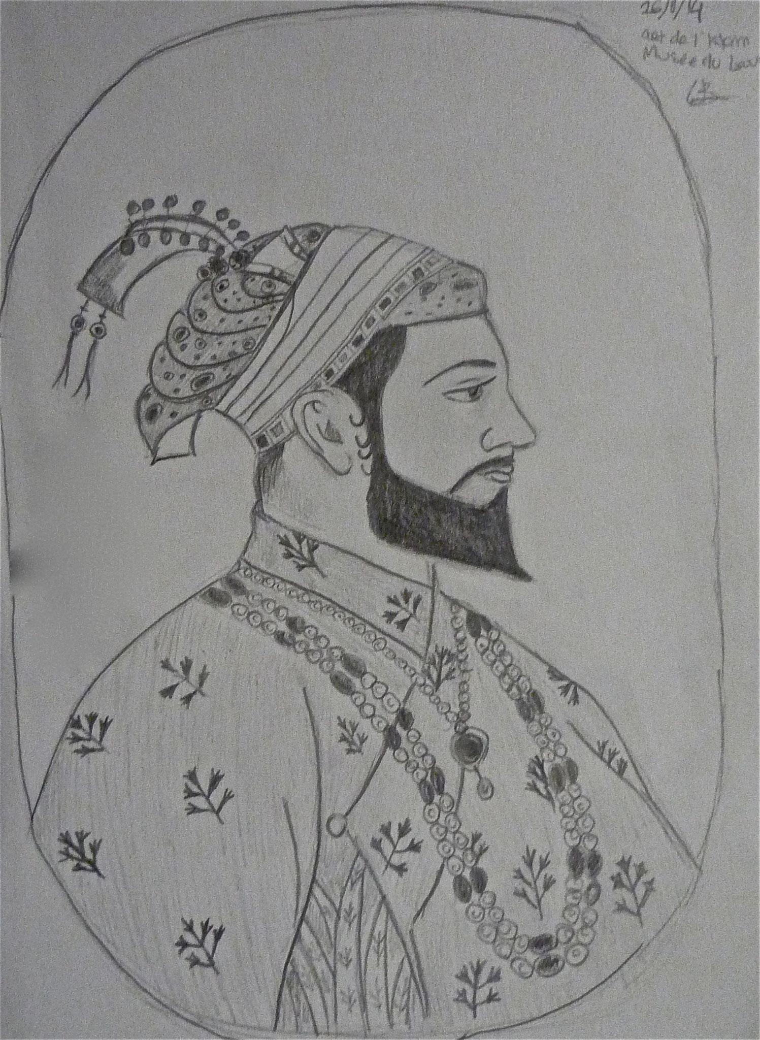 Louvre Portrait. Art d'Islam