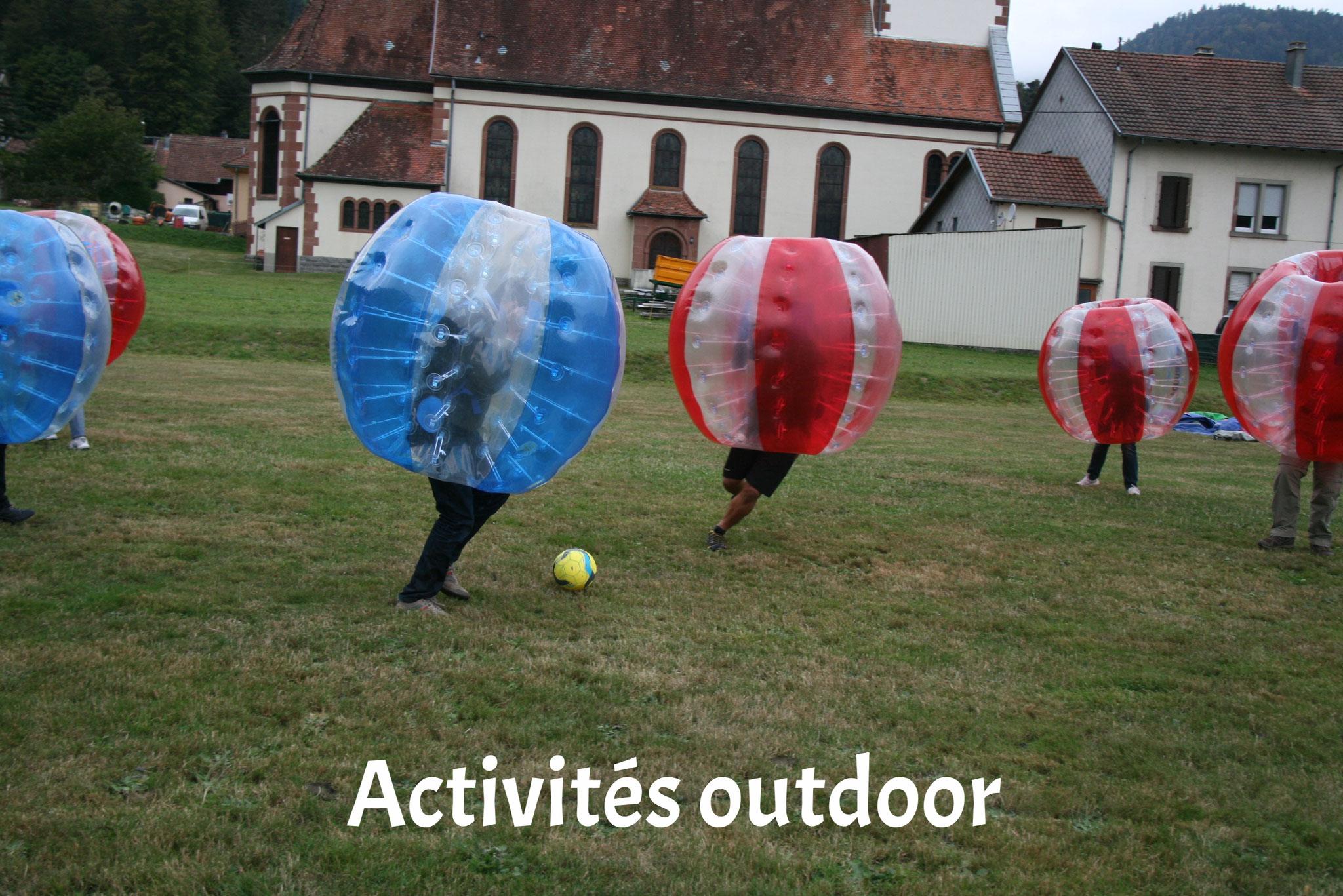 Activités outdoor