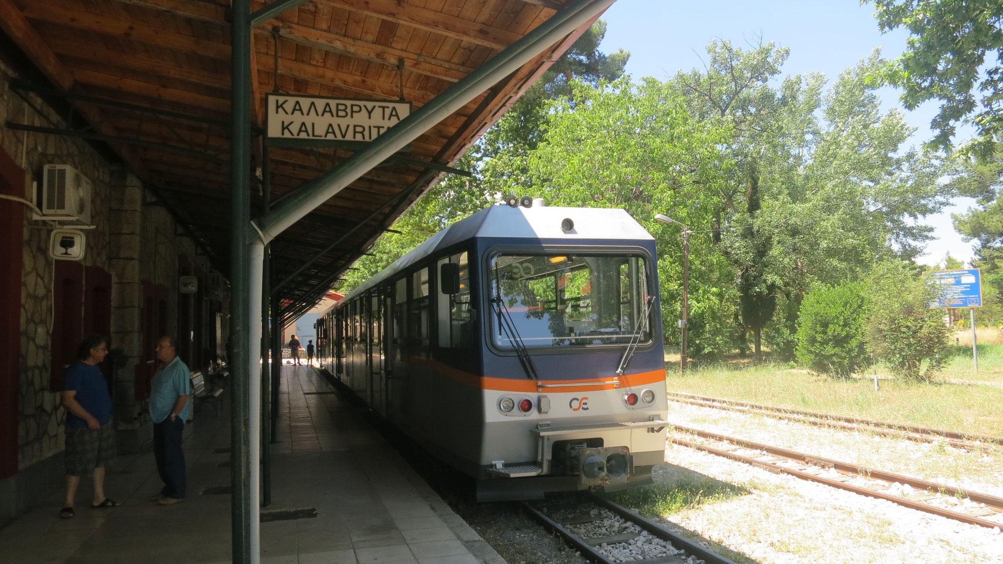 Treno a cremagliera Kalavrita-Diakopto