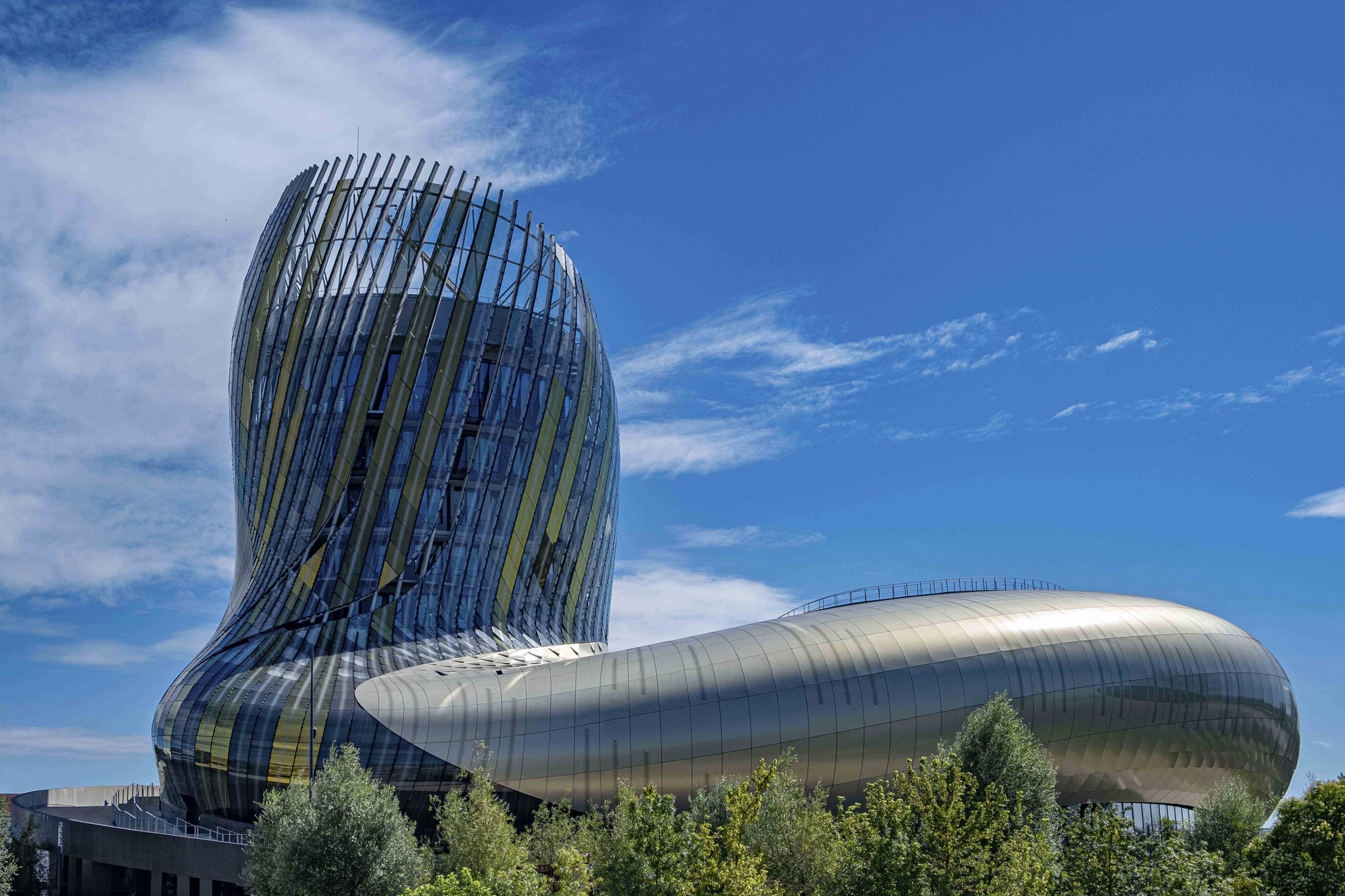 Jacques CONSTANT - La cité du vin à Bordeaux