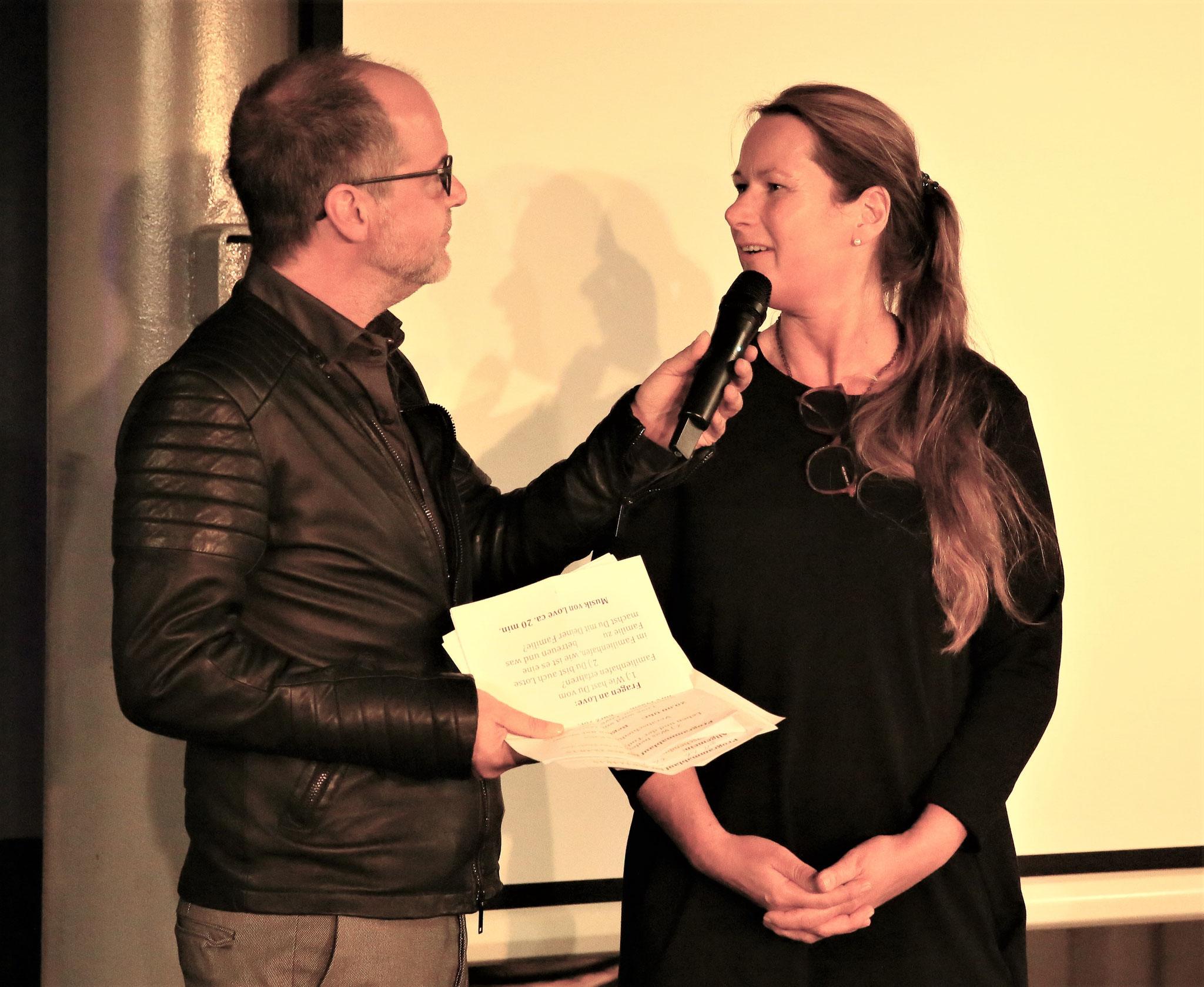 Katja Matzen im Gespräch mit Marek Erhardt