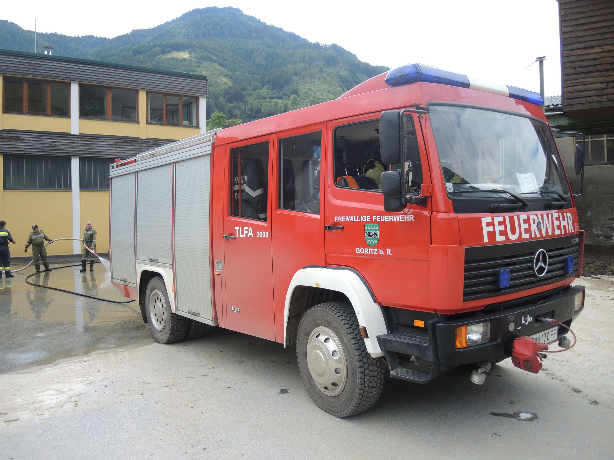 KHD Einsatz in Mureck, FF Goritz bei Bad Radkersburg, Austria