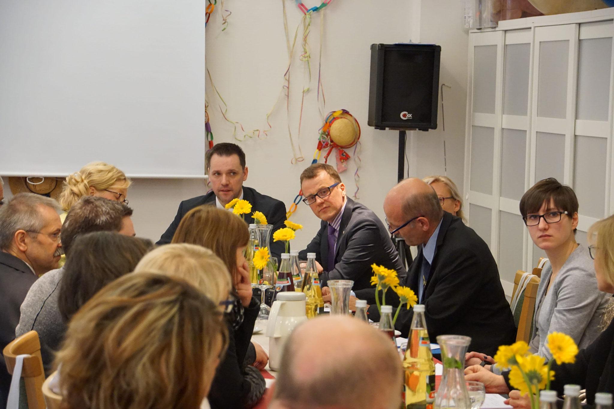 Pflegefrühstück: Dialogformat mit Mitarbeitern und Führungskräften der Pflege