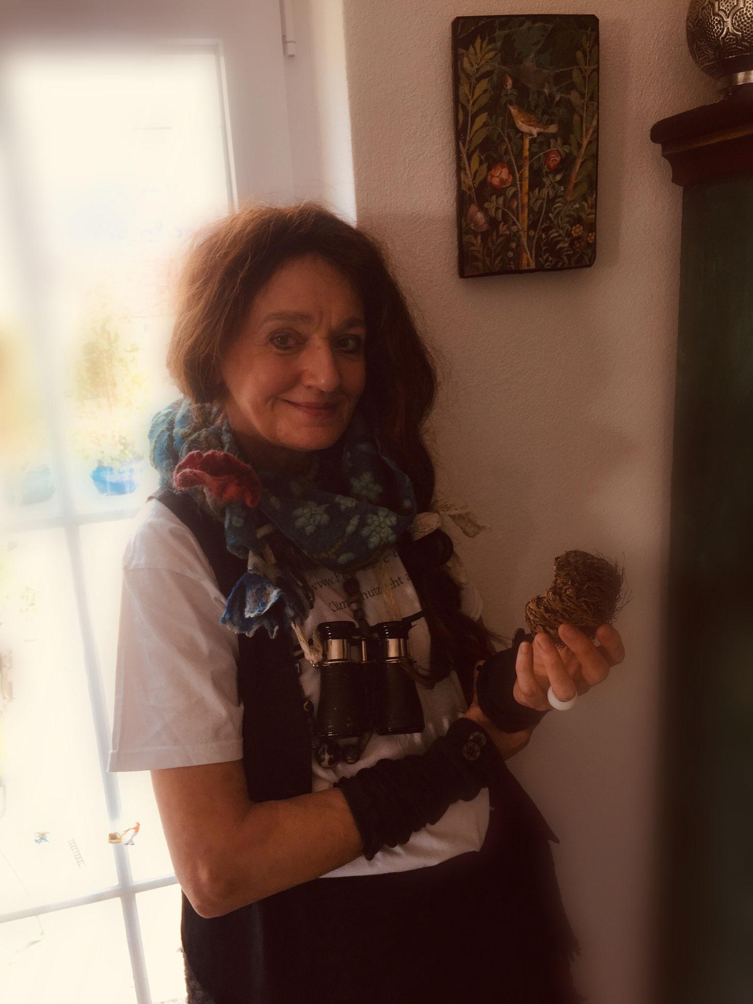 Ilse Jehle aus Baden-Württemberg unterstützt das Netzwerk von Anfang an