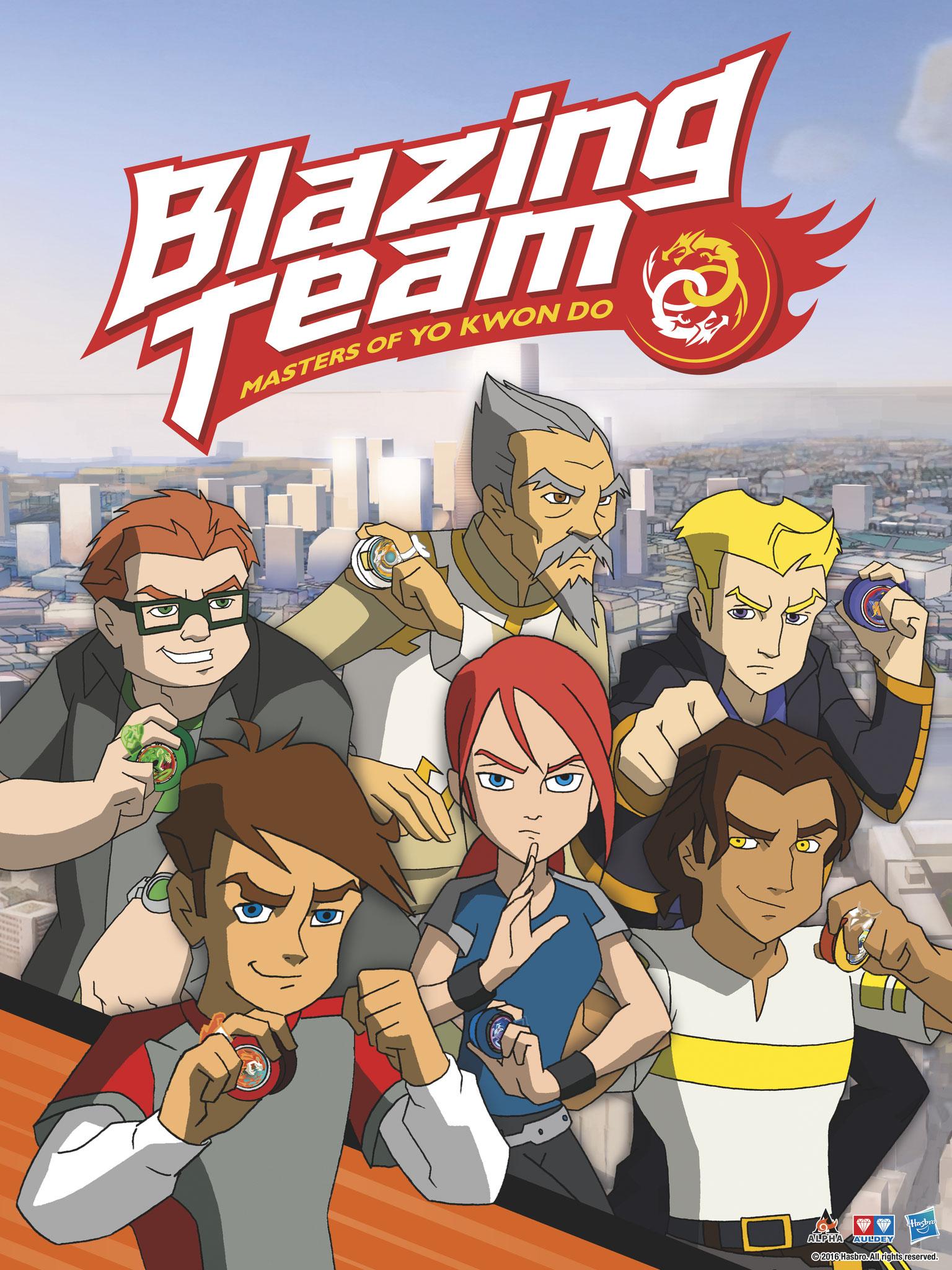 Blazing Team (9 épisodes) / Canal J, Gulli