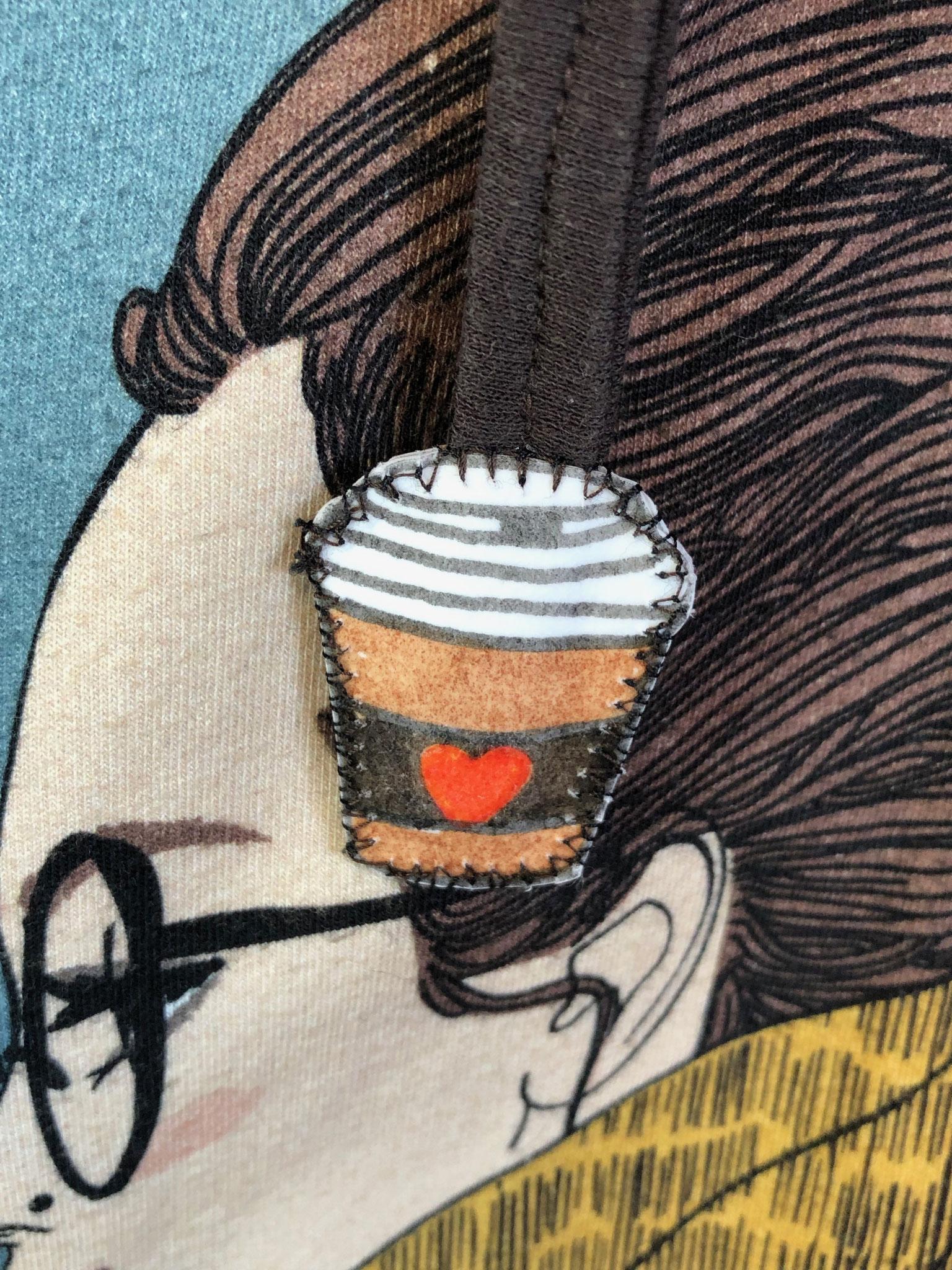 Kaffee - Liebhaberin - Pulli