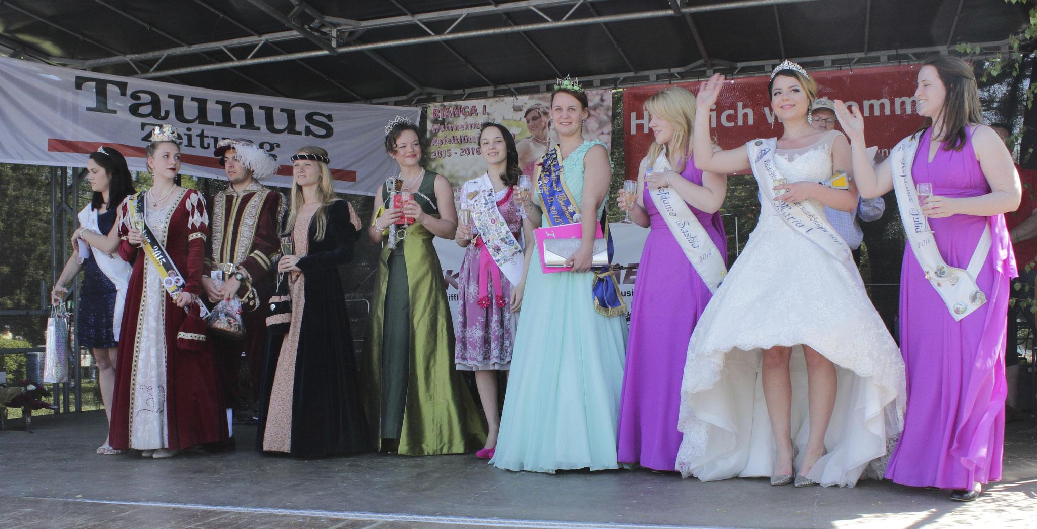 Apfelblütenkönigin Jenny I., Wehrheim, Apfeldorf, Taunus, Foto: Ursula Konder