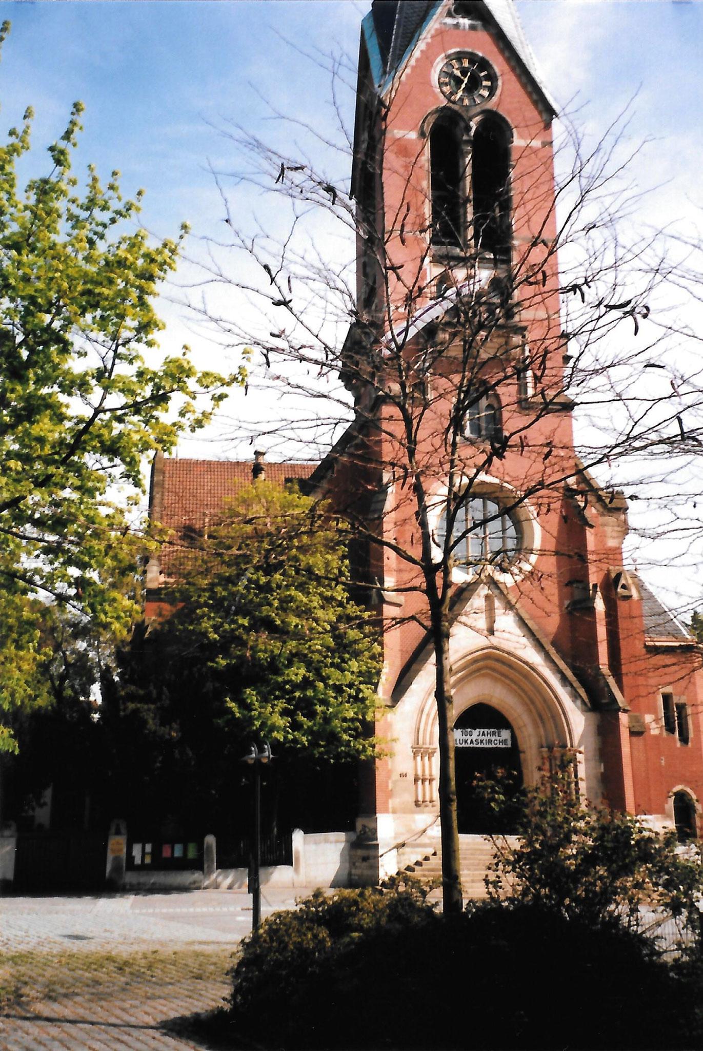 Евангелическая церковь апостола Луки в г. Штутгарте, 1989 год
