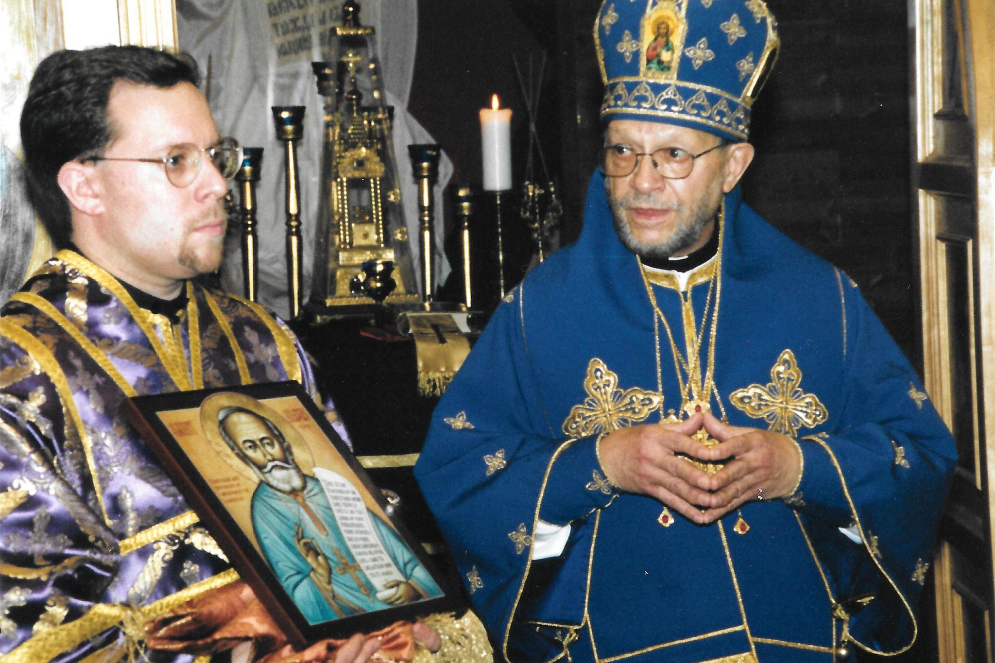 Визит предстоятеля автокефальной Церкви в Америке Митрополита Феодосия