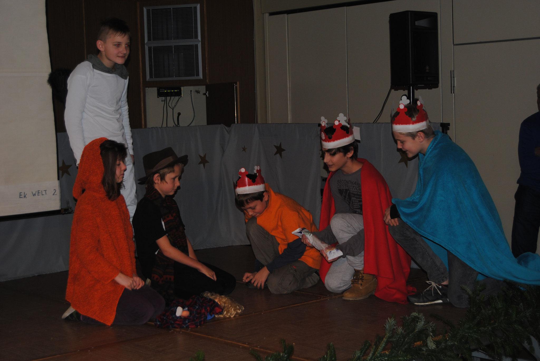 Weihnachten bei den Herdmanns, 6. Klasse