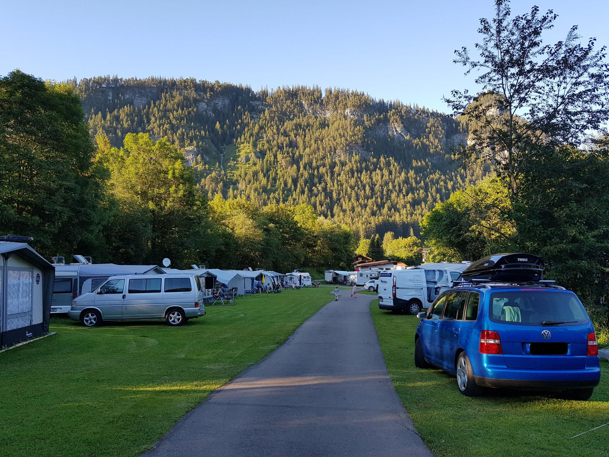 Wiesenplatz Camping Pfronten