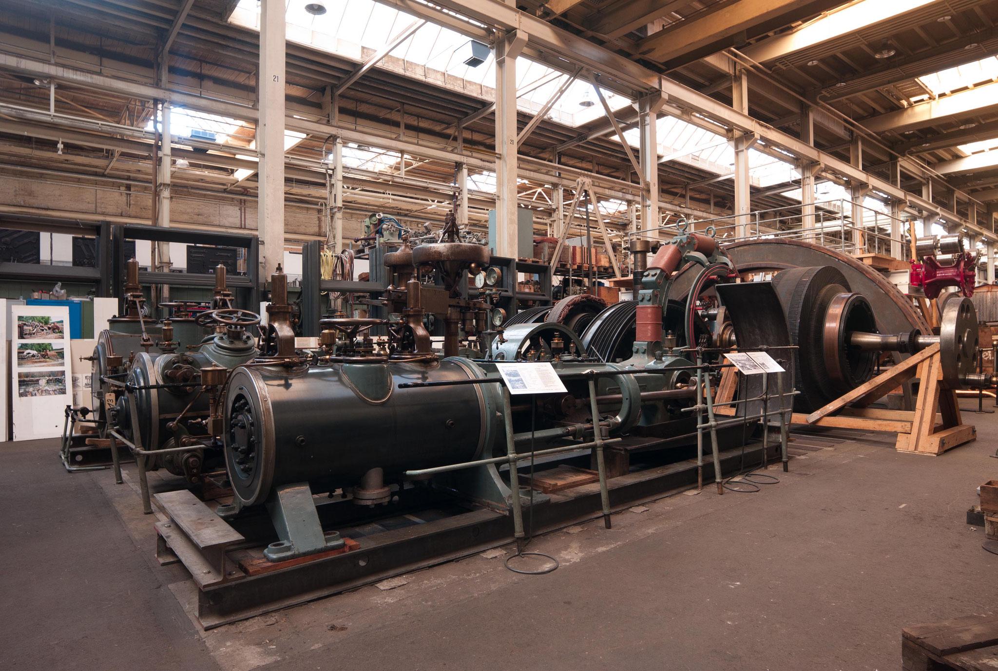 """Auf dieser Maschine lernten früher die ETH-Ingenieure das """"dampfen"""""""
