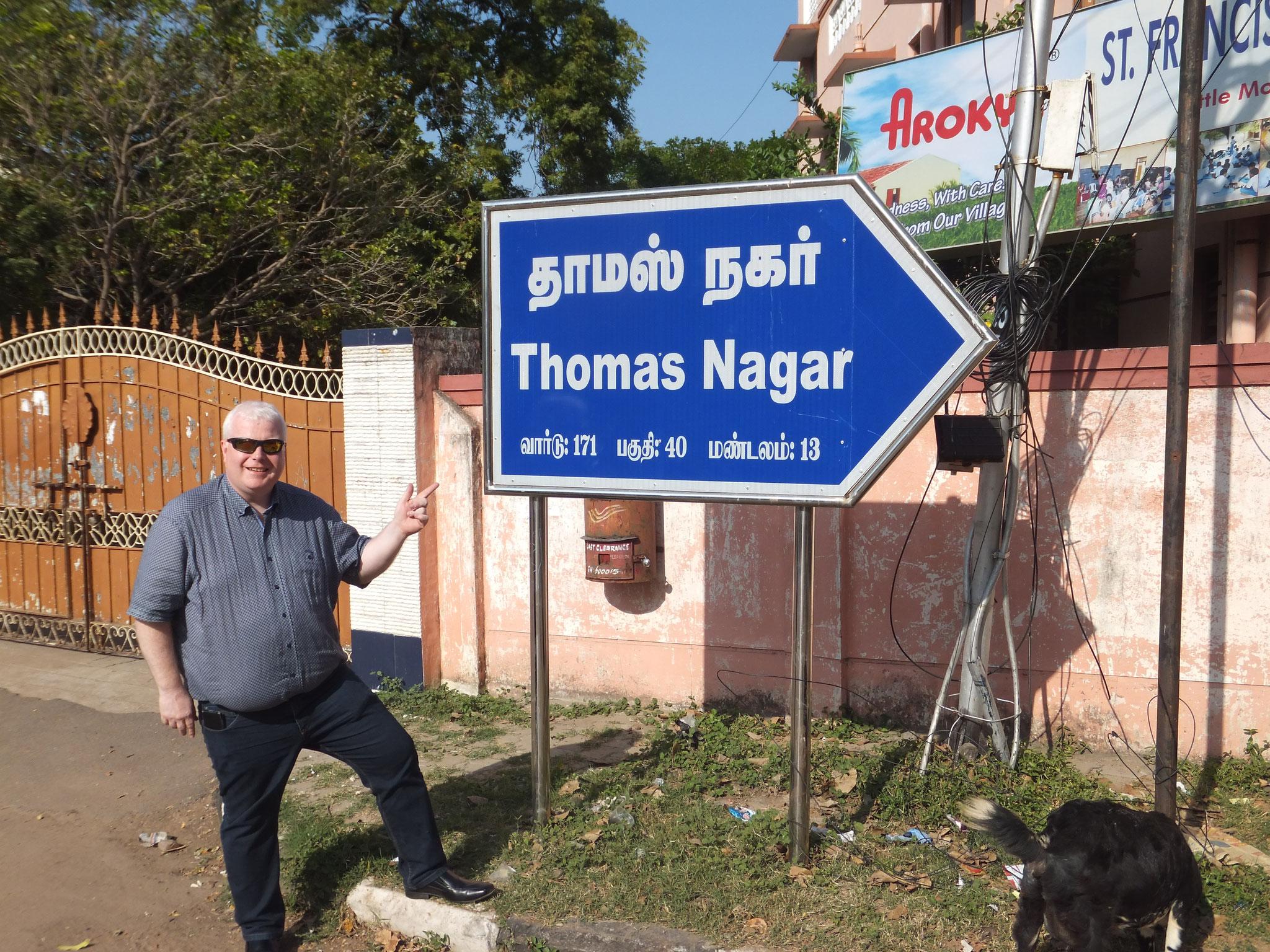 Thomas Nagar - der Stadtteil Chennais, in dem der Apostel Thomas wirkte