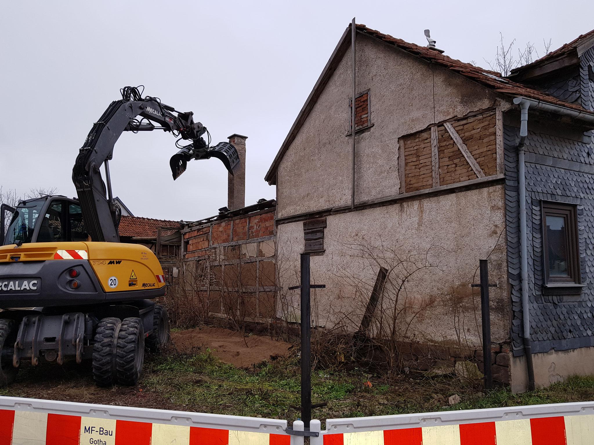 Abriss im Januar 2020