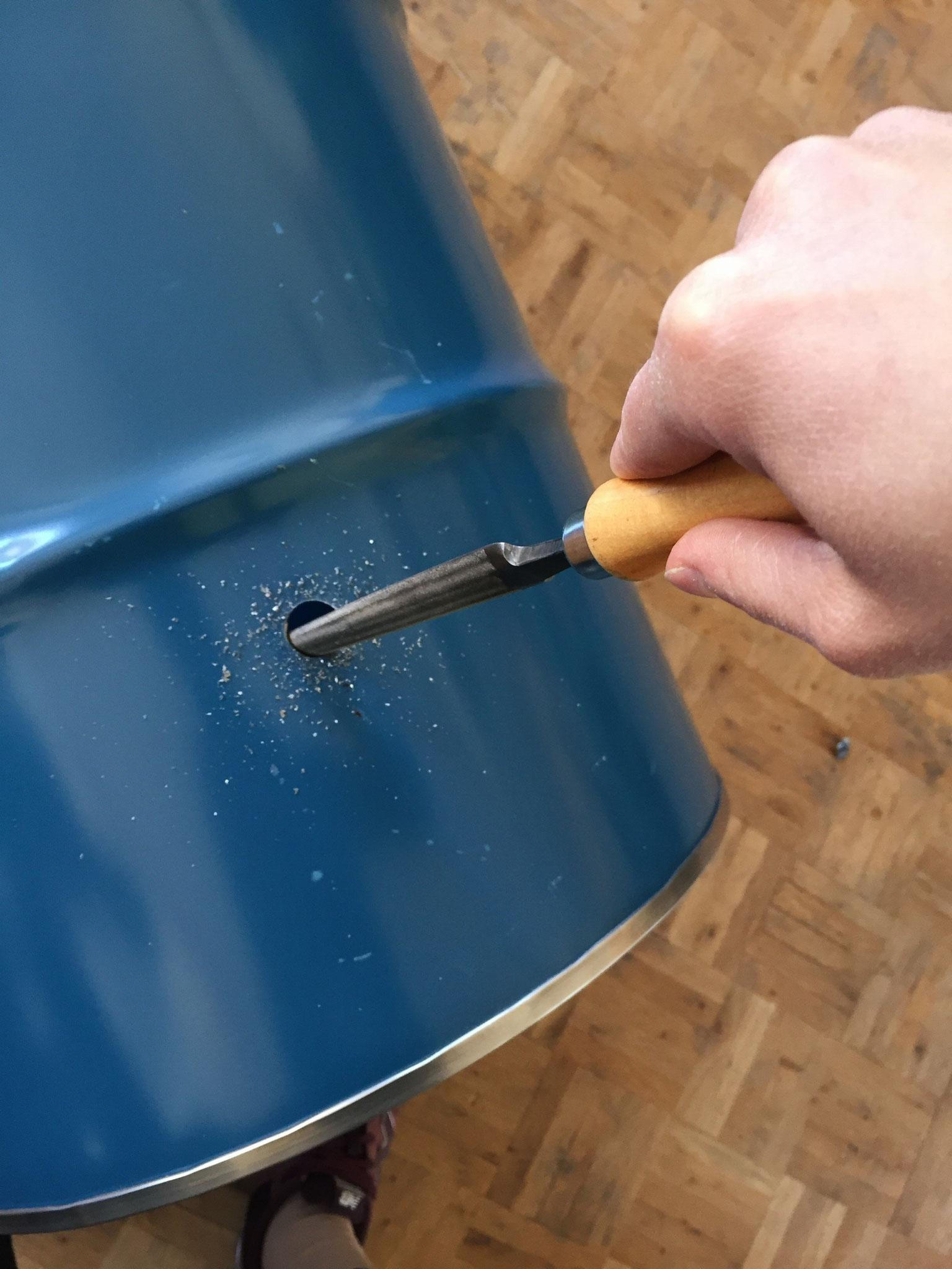 blog upcycling regentonne buitig do it yourself heimwerken. Black Bedroom Furniture Sets. Home Design Ideas