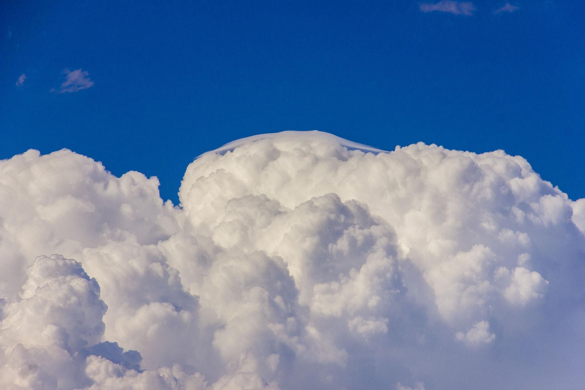 """""""Pileus""""et bouillement convectif un jour d'orage..."""