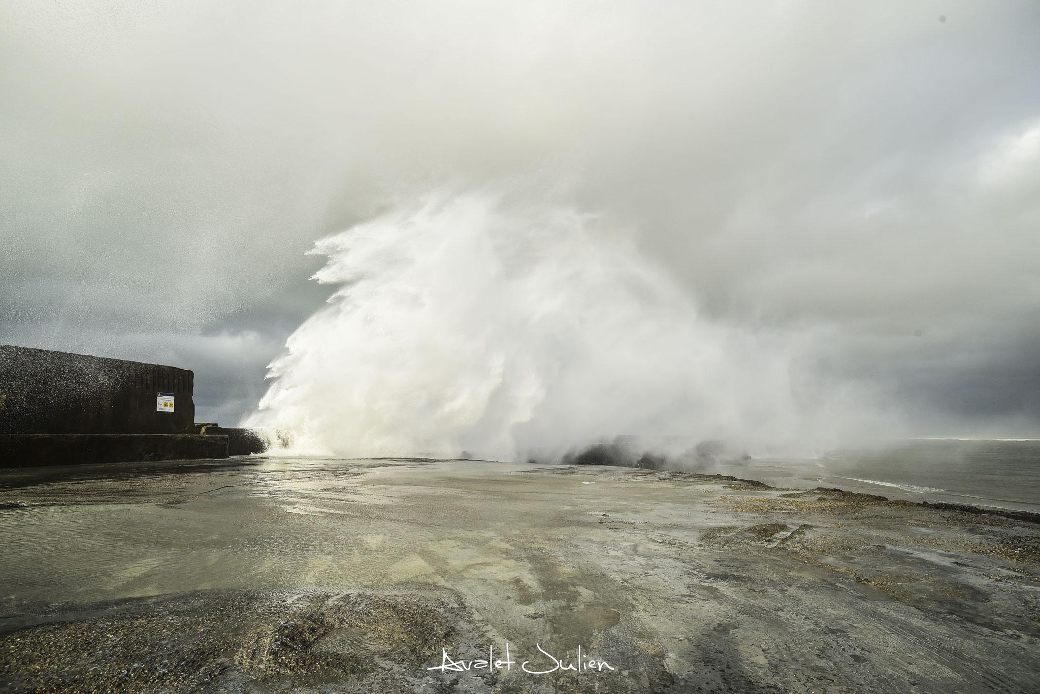 Tempête Nanette- Boulogne sur mer