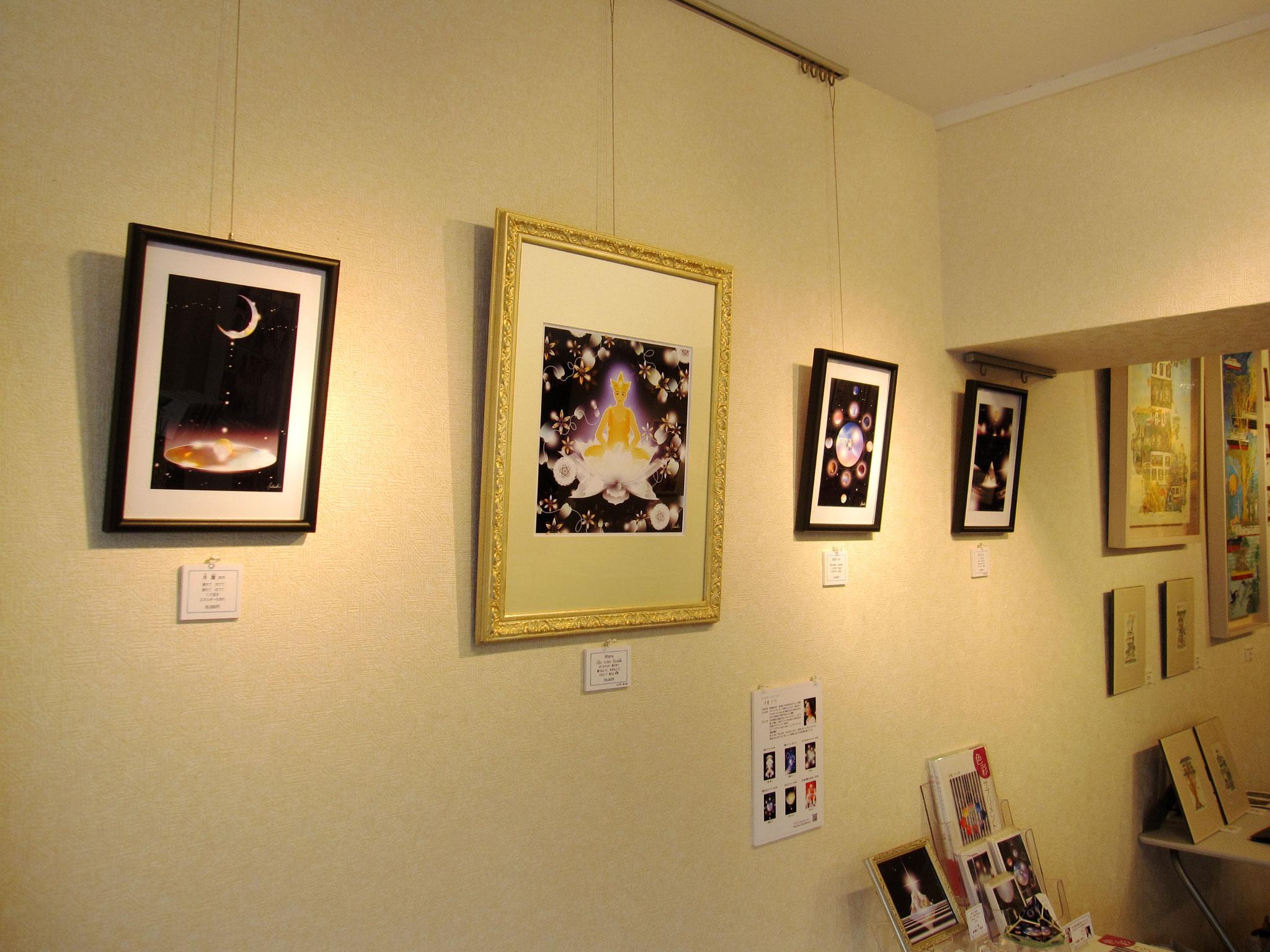 第11回 アートコミュニティ展 於:原宿ガレリア 2月