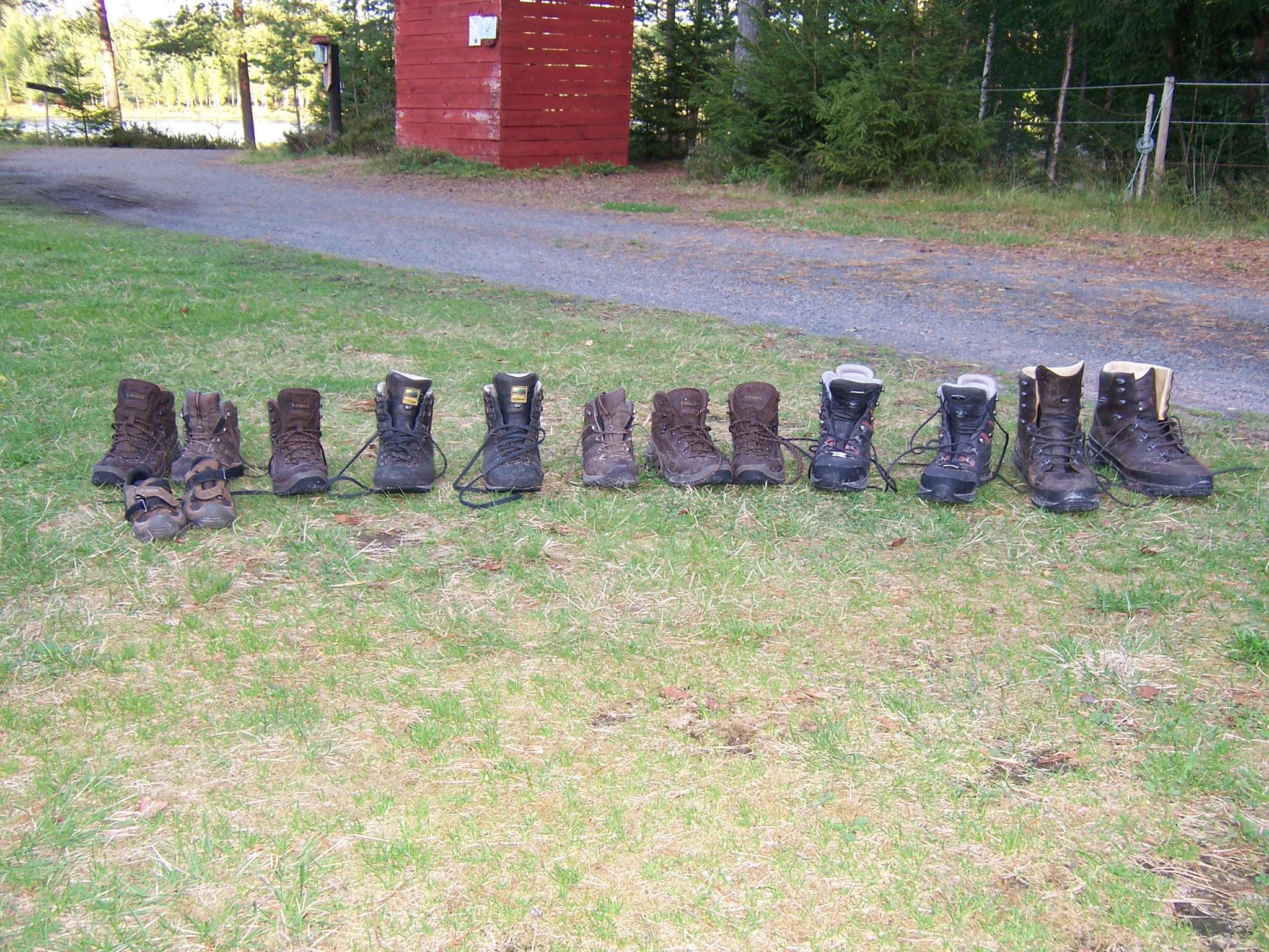 Nya Skogsgården - wandern so weit die Füsse tragen...