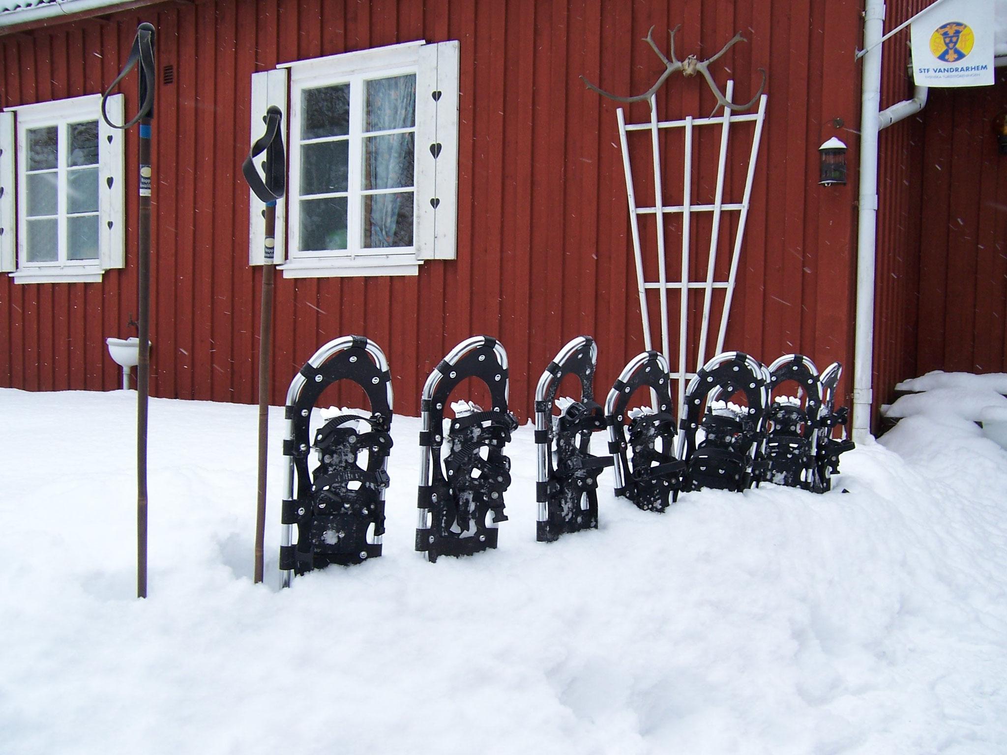 Nya Skogsgården - Schneeschuhwandern
