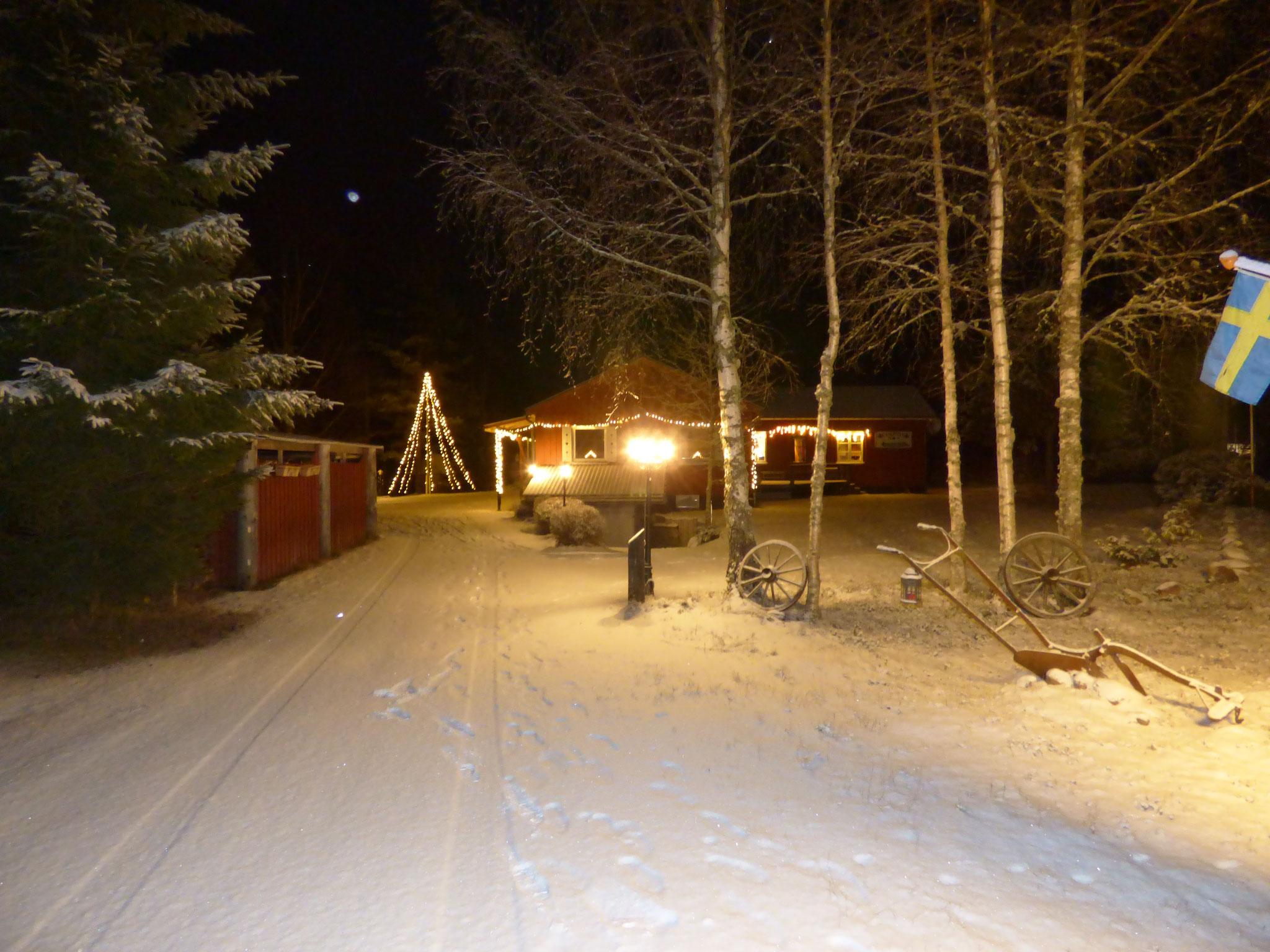 Nya Skogsgården - Herzlich willkommen auch zu Weihnachten