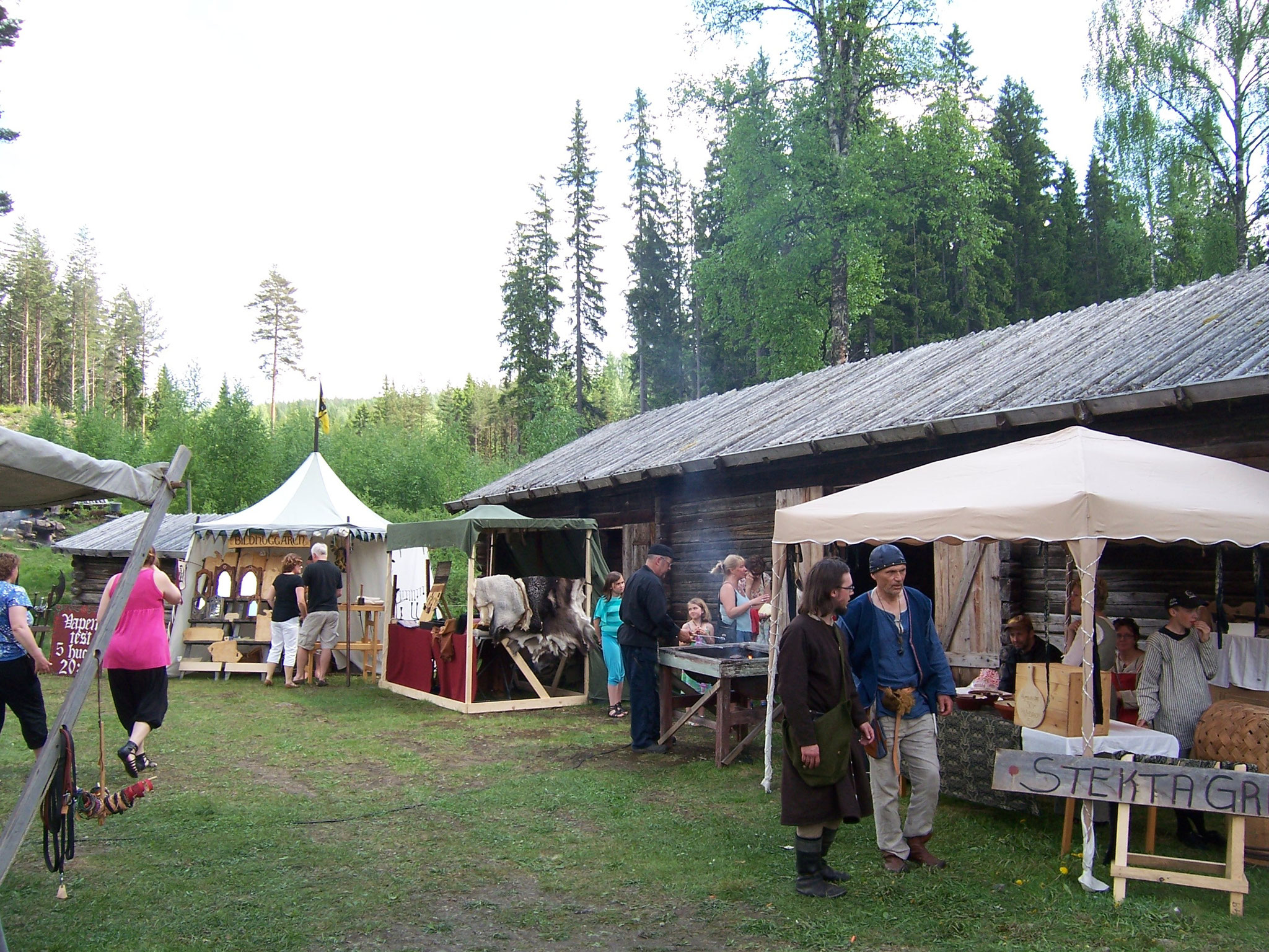 medeltidsmarknad i Lekvattnet/ Karmen Kynna