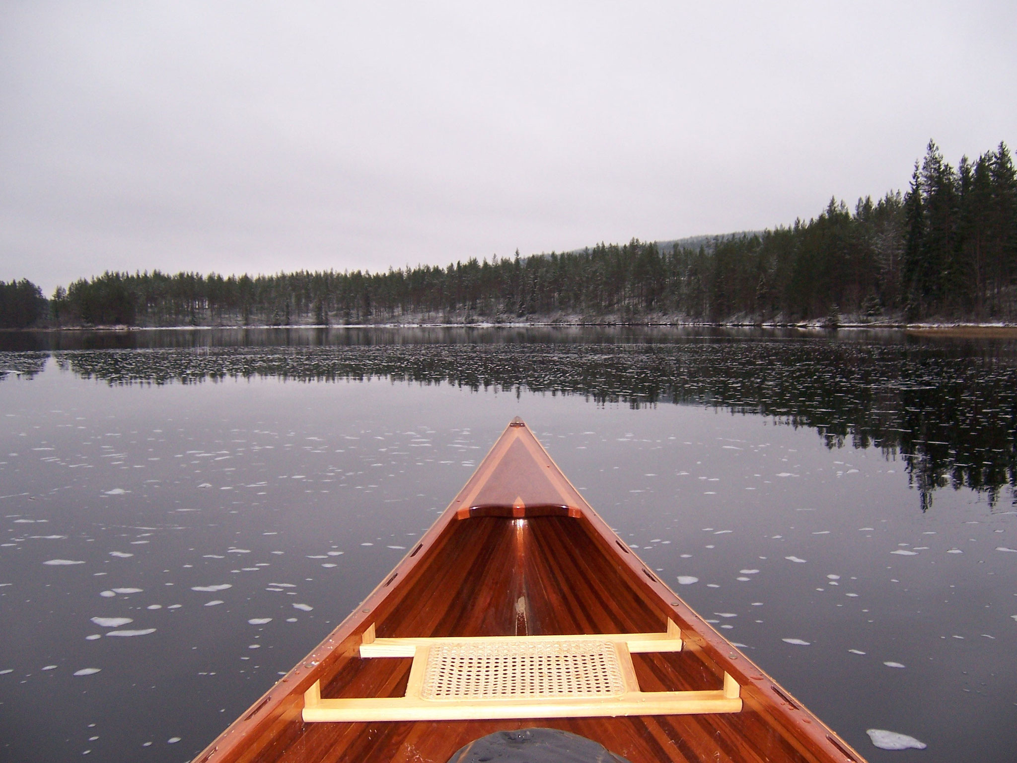 paddling at (nearly) any time of the year