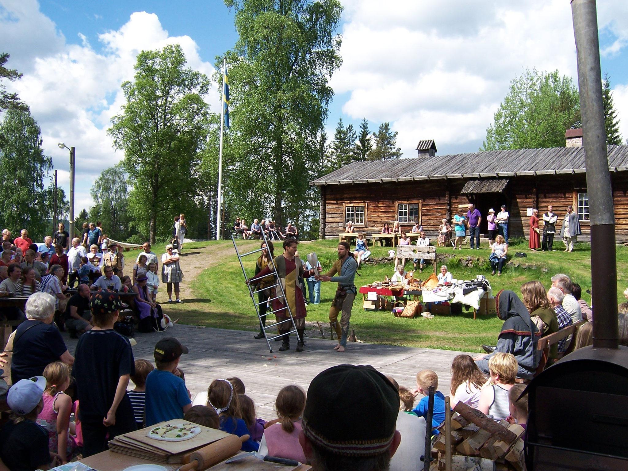 Mittelaltermarkt in Lekvattnet