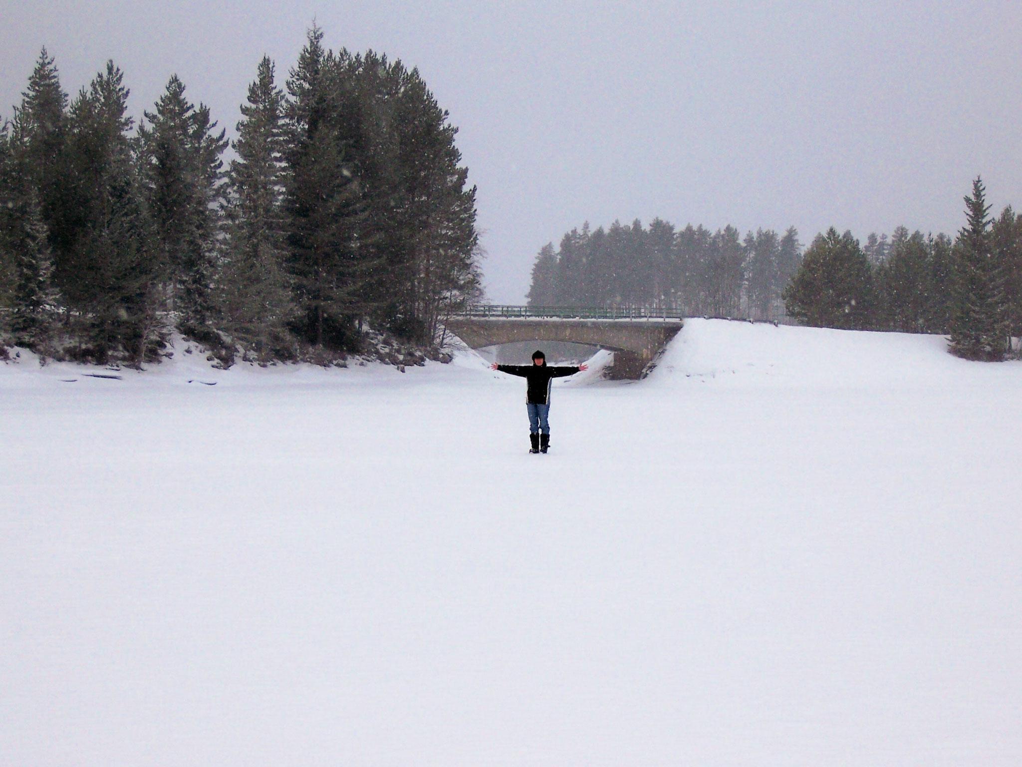 Der Rottnan - zugefroren