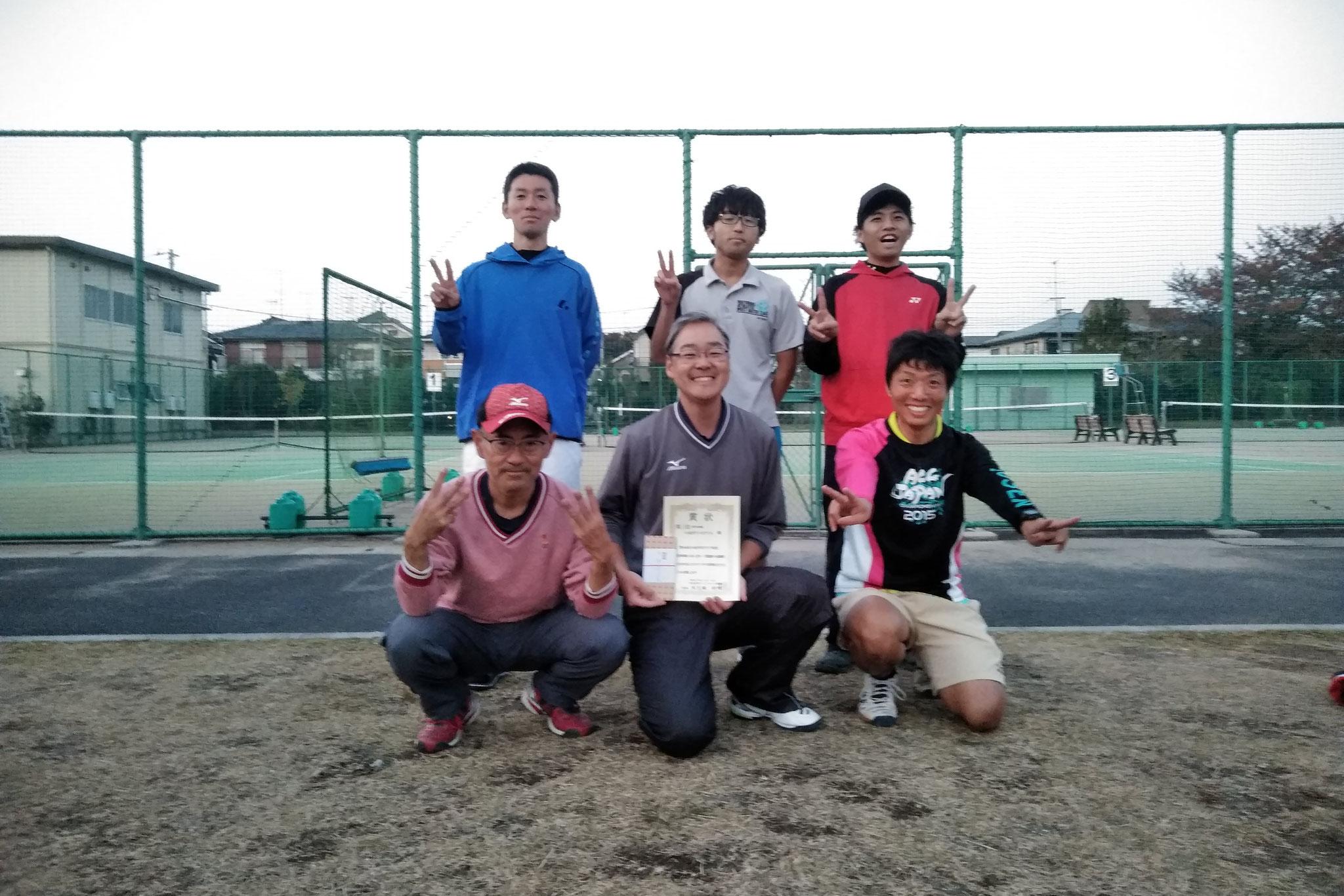2017年小金井市クラブ対抗団体戦大会 第三位(小金井テニスクラブA)