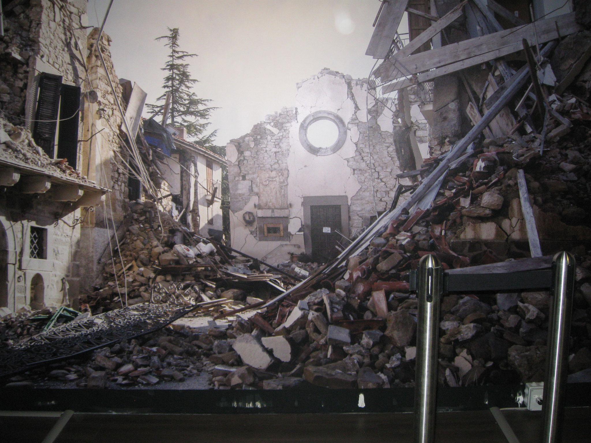 Il terremoto in una stanza..