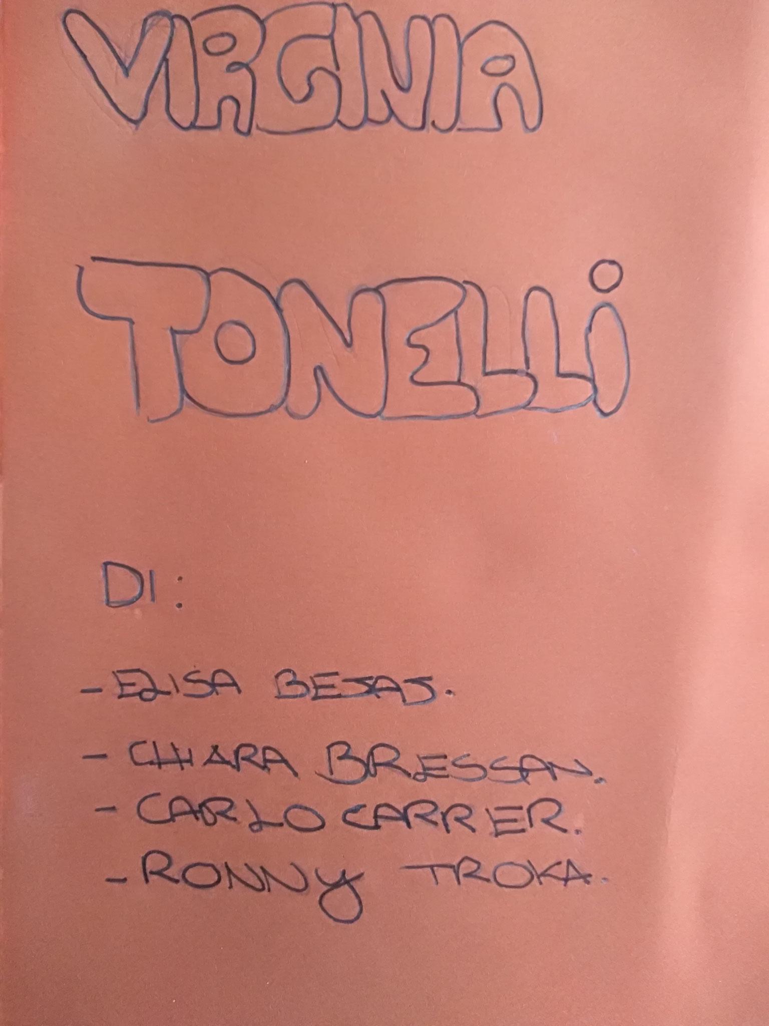 8 Opuscolo su Virginia Tonelli.