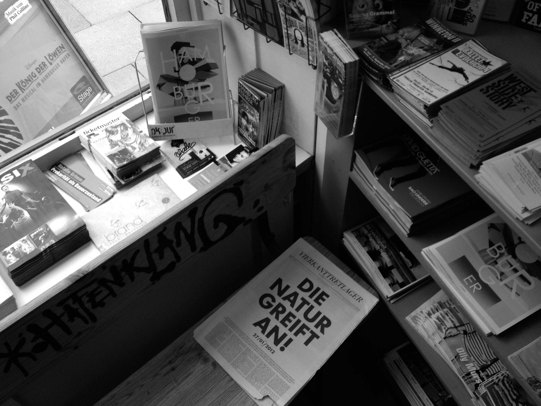 Vierkanttretlager - Magazinauslage