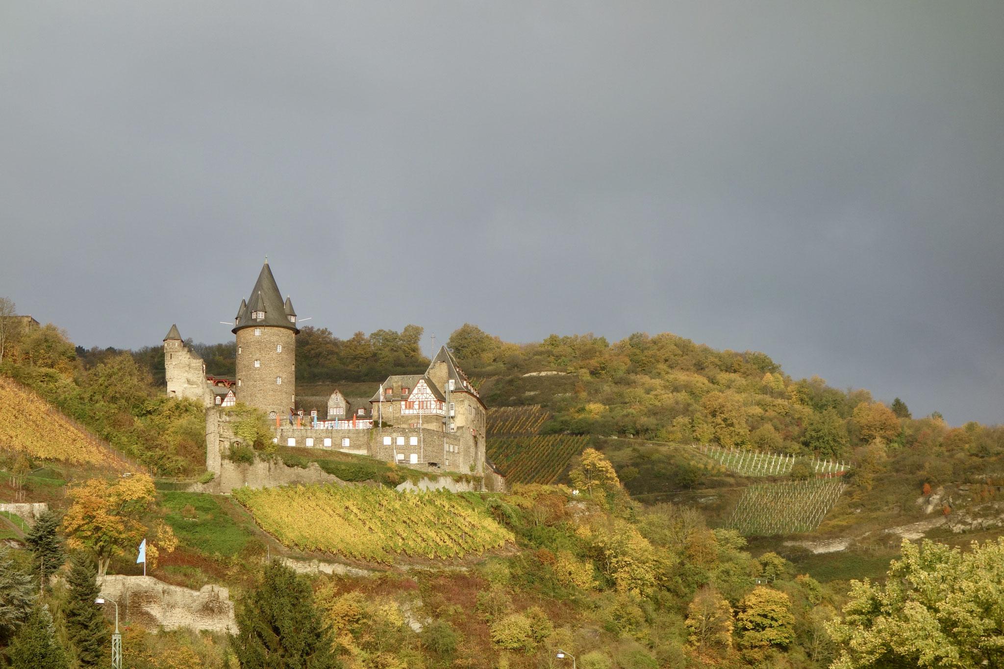 Castle above Bacharach
