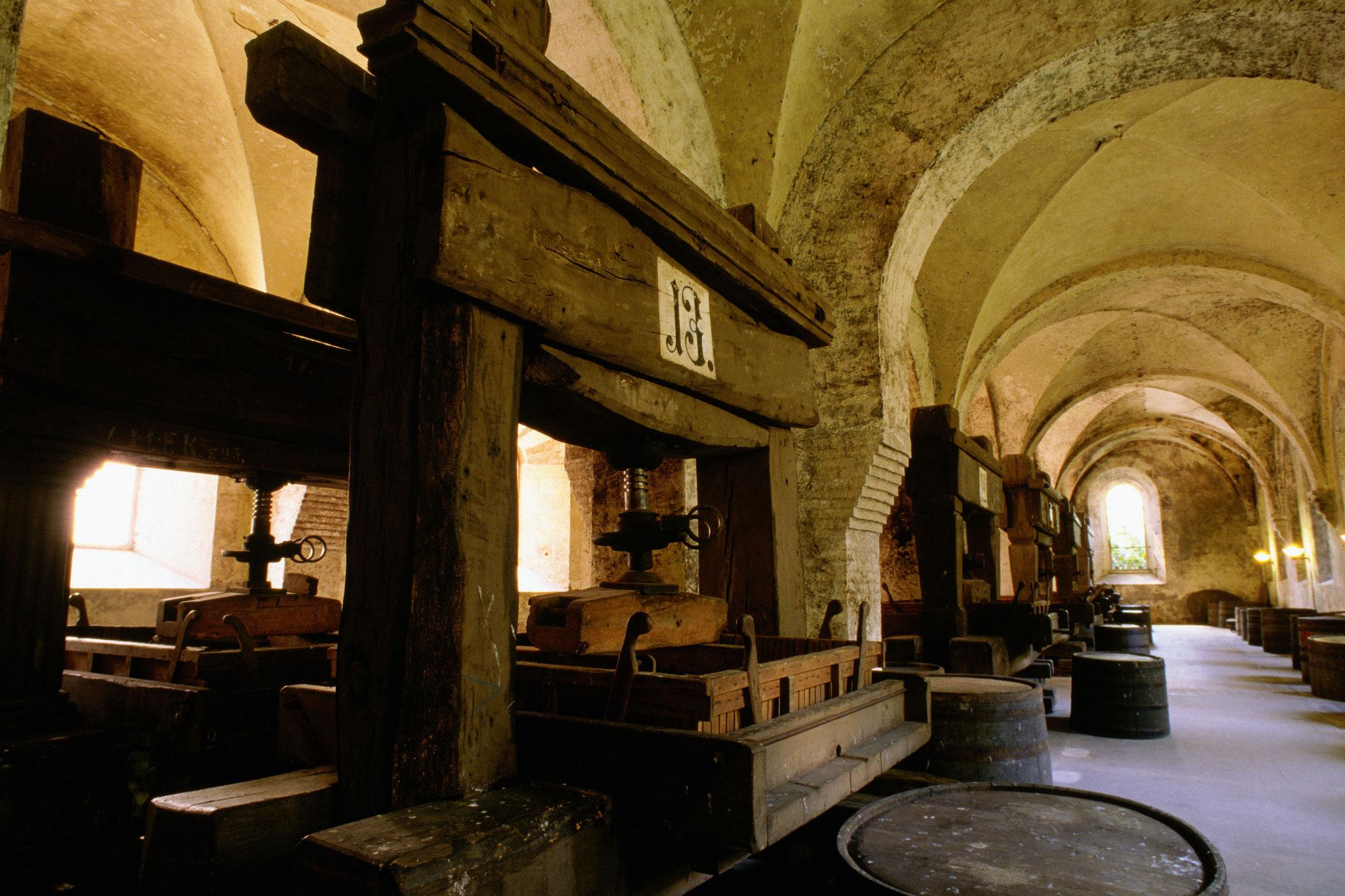 Presses at Kloster Eberbach