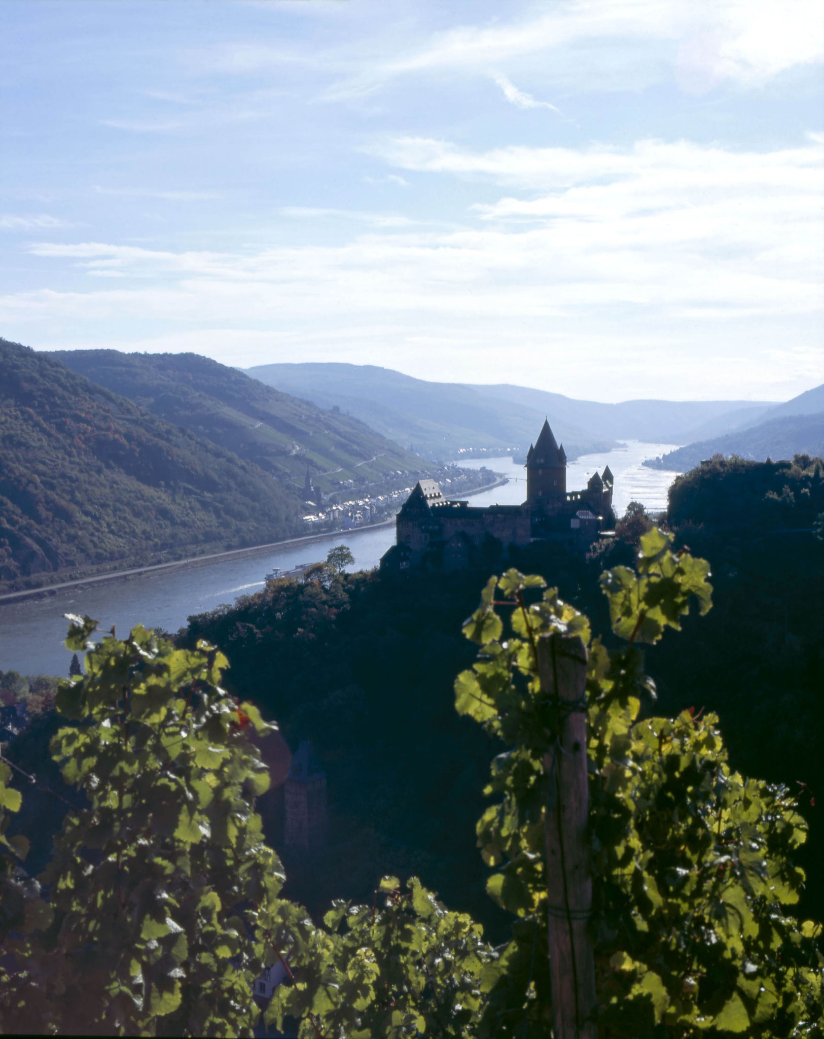 The magic combination of Rhine River and historic Castles