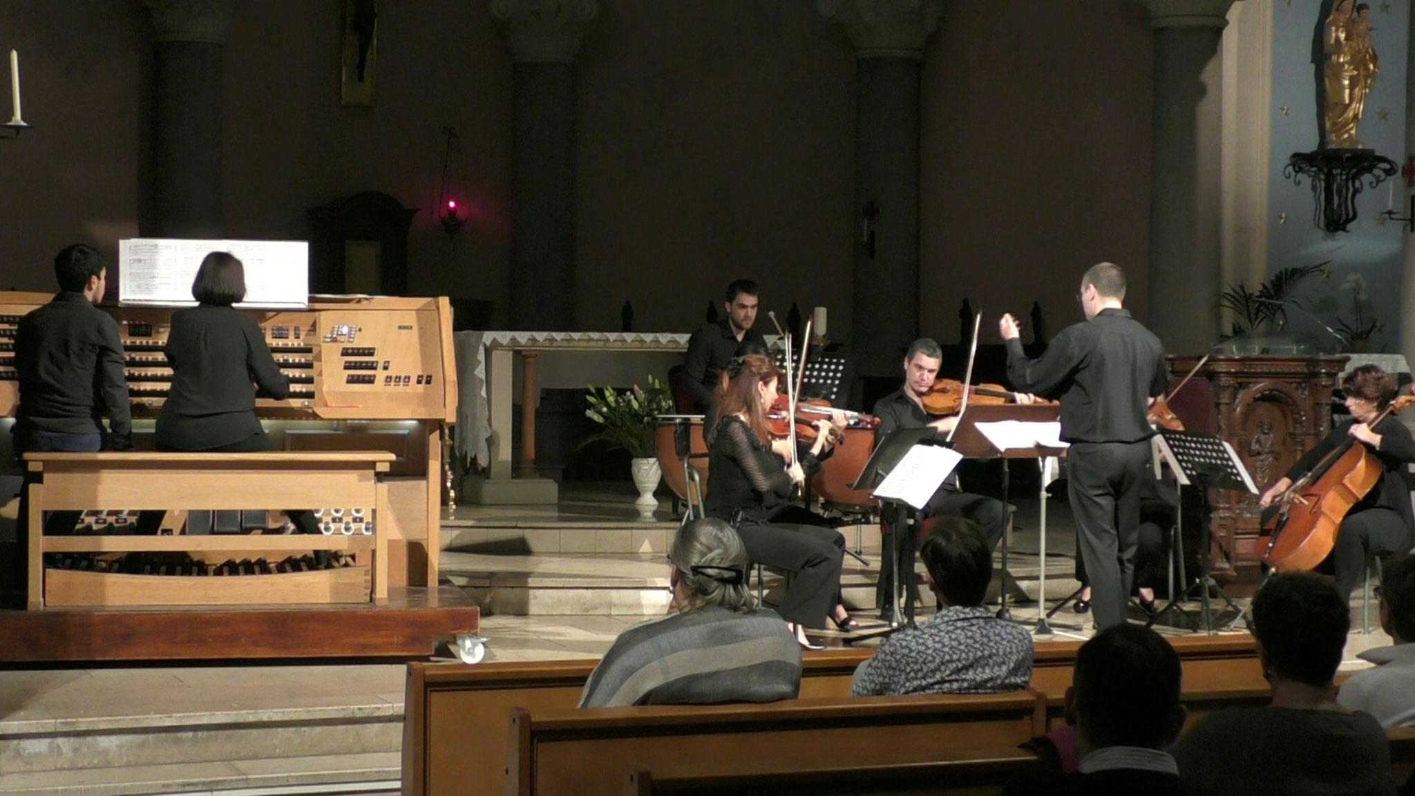 Jehan Alain 2016 - Sarabande, Catherine Hyvert (orgue), Florence Laugénie (violoncelle), Vanessa Leturé-Kordic (alto), Stéphane Catalanotti (direction)