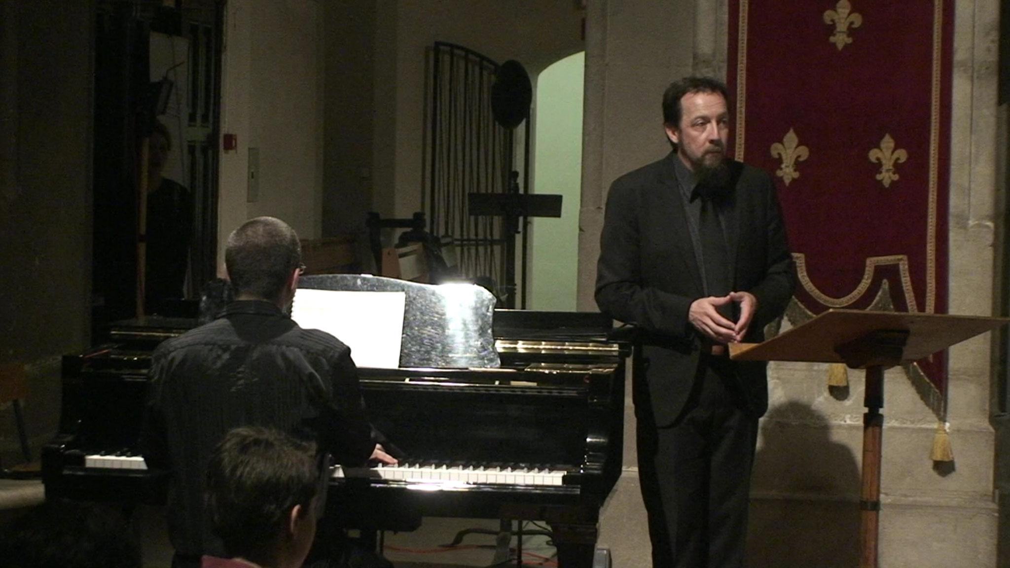 Jehan Alain 2016 - Foire pour voix de compositeur, Bruno Habert (baryton) et Stéphane Catalanotti (piano)