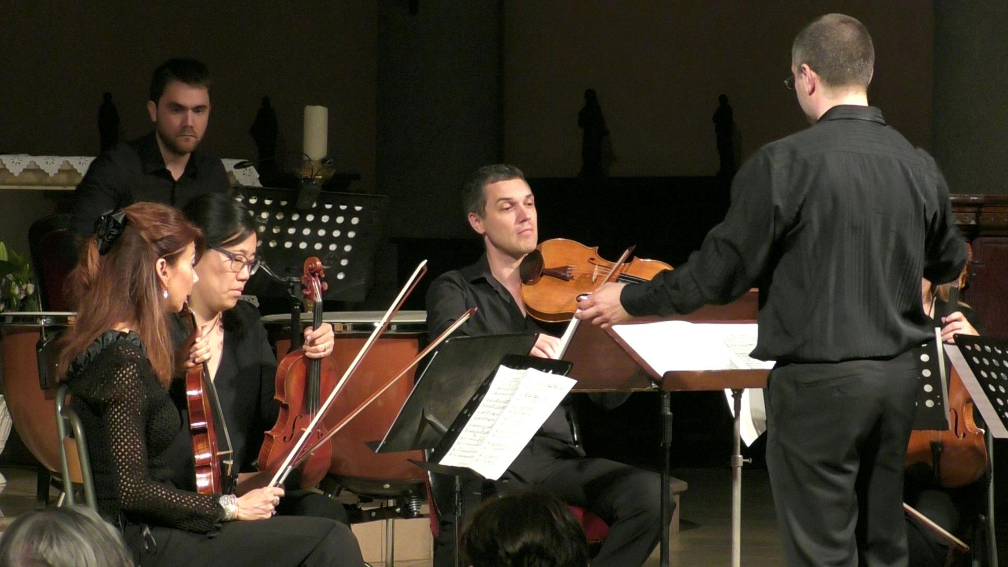 Jehan Alain 2016 - Sarabande, Alain Baldocchi  (alto), Mariko Baujard et Pauline Debourg (violons)