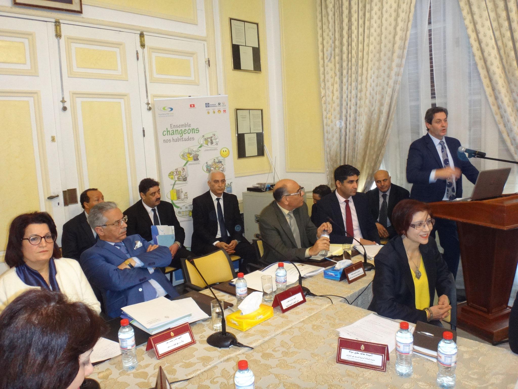 Elaboration et mise en oeuvre de la stratégie de communication du projet de bonne gestion des déchets d'activités sanitaires en Tunisie (ANGed / Banque Mondiale, 2014-2017)