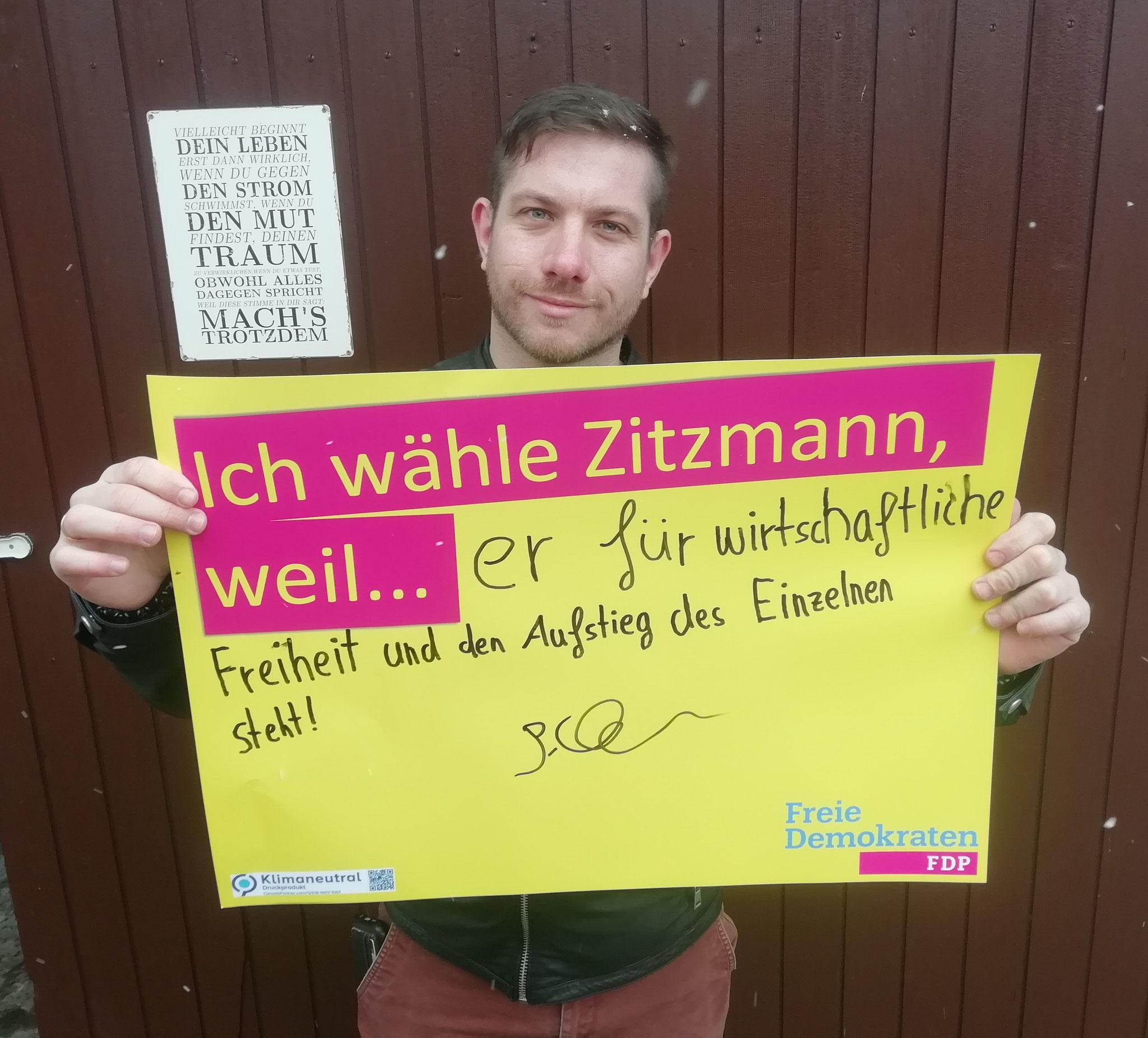 Patrick Maier, Volkswirt/Doktorand