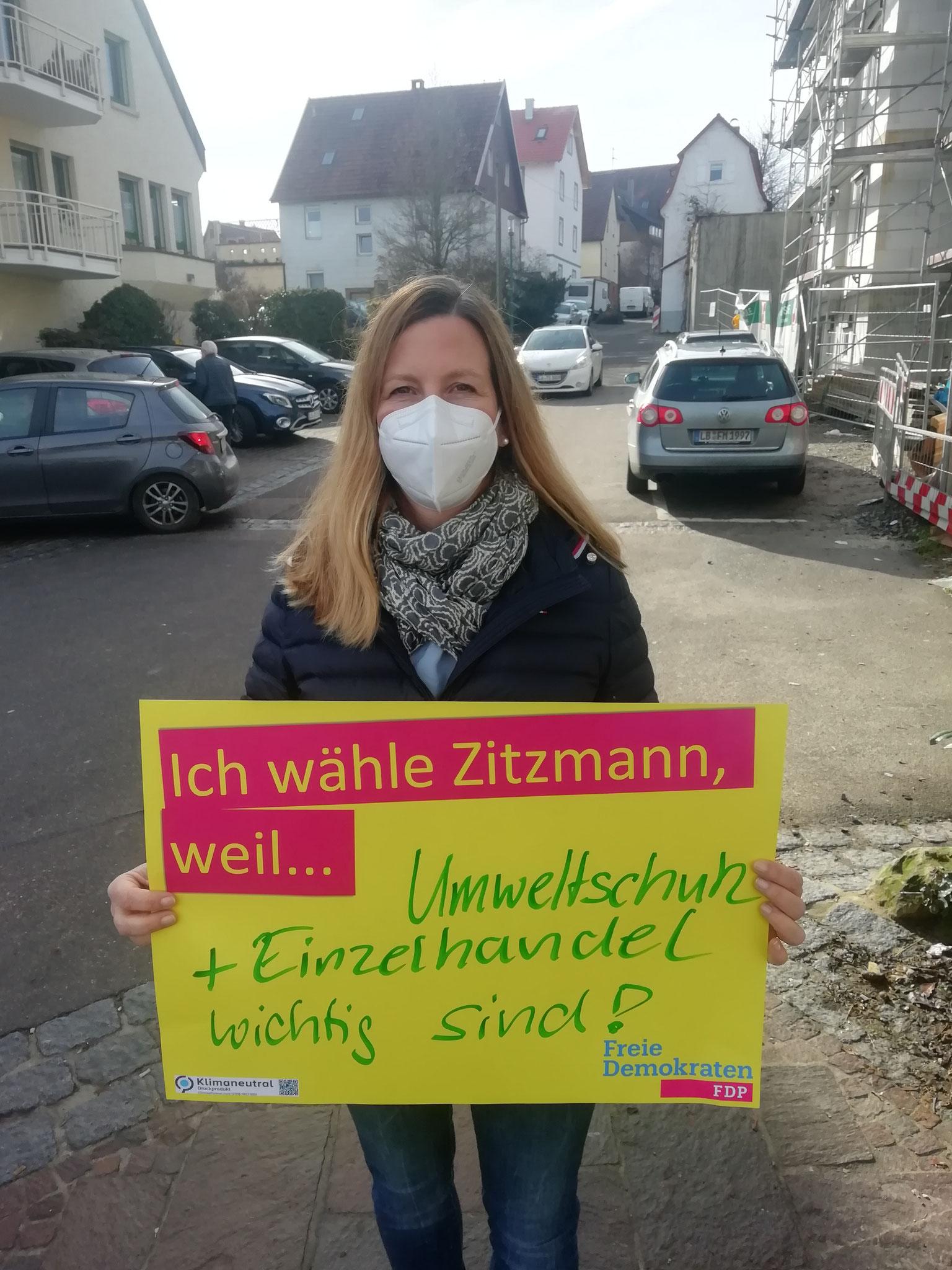 Andrea Küchle, FDP Gemeinderätin
