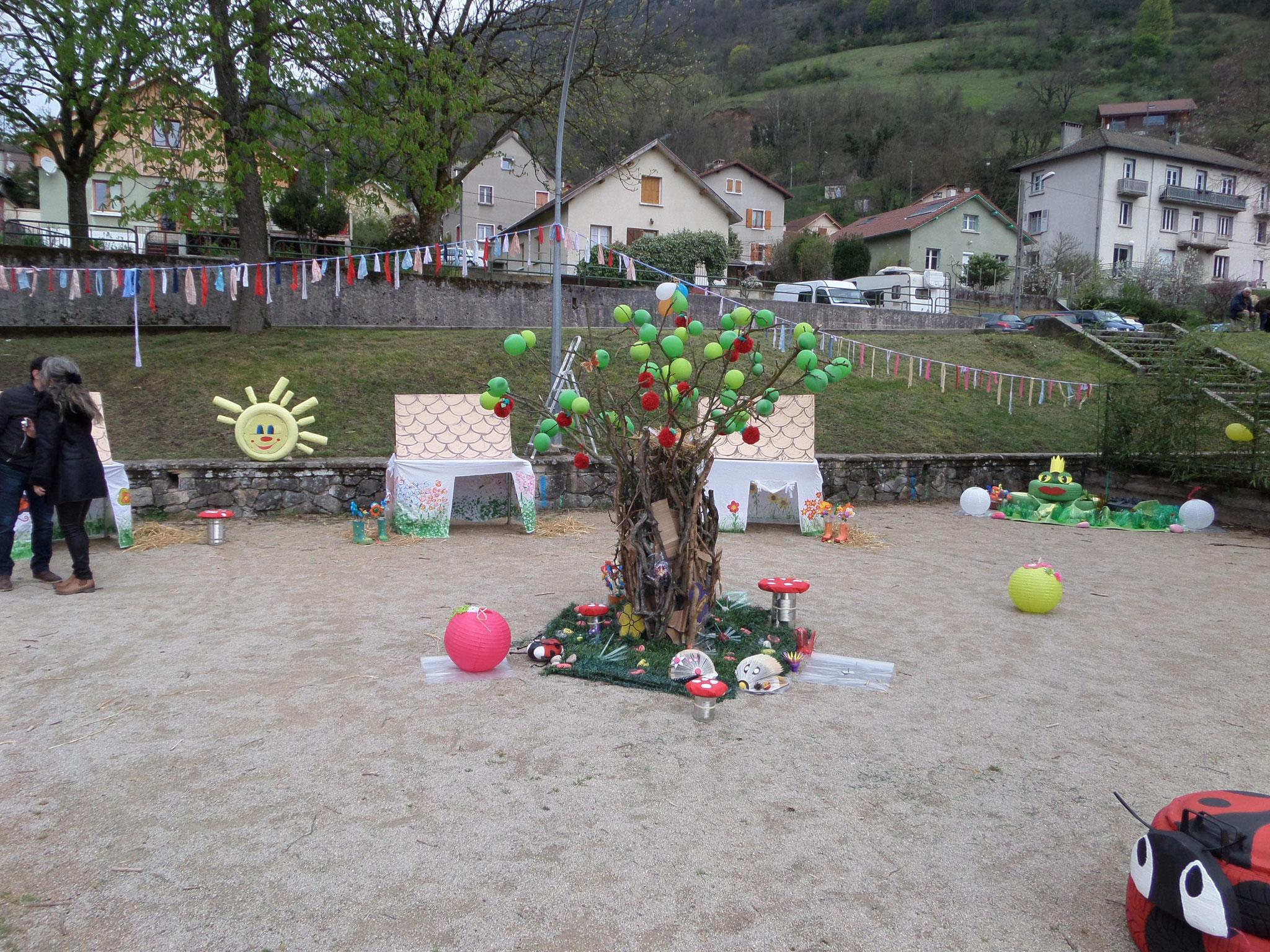 le jardin de Françoise