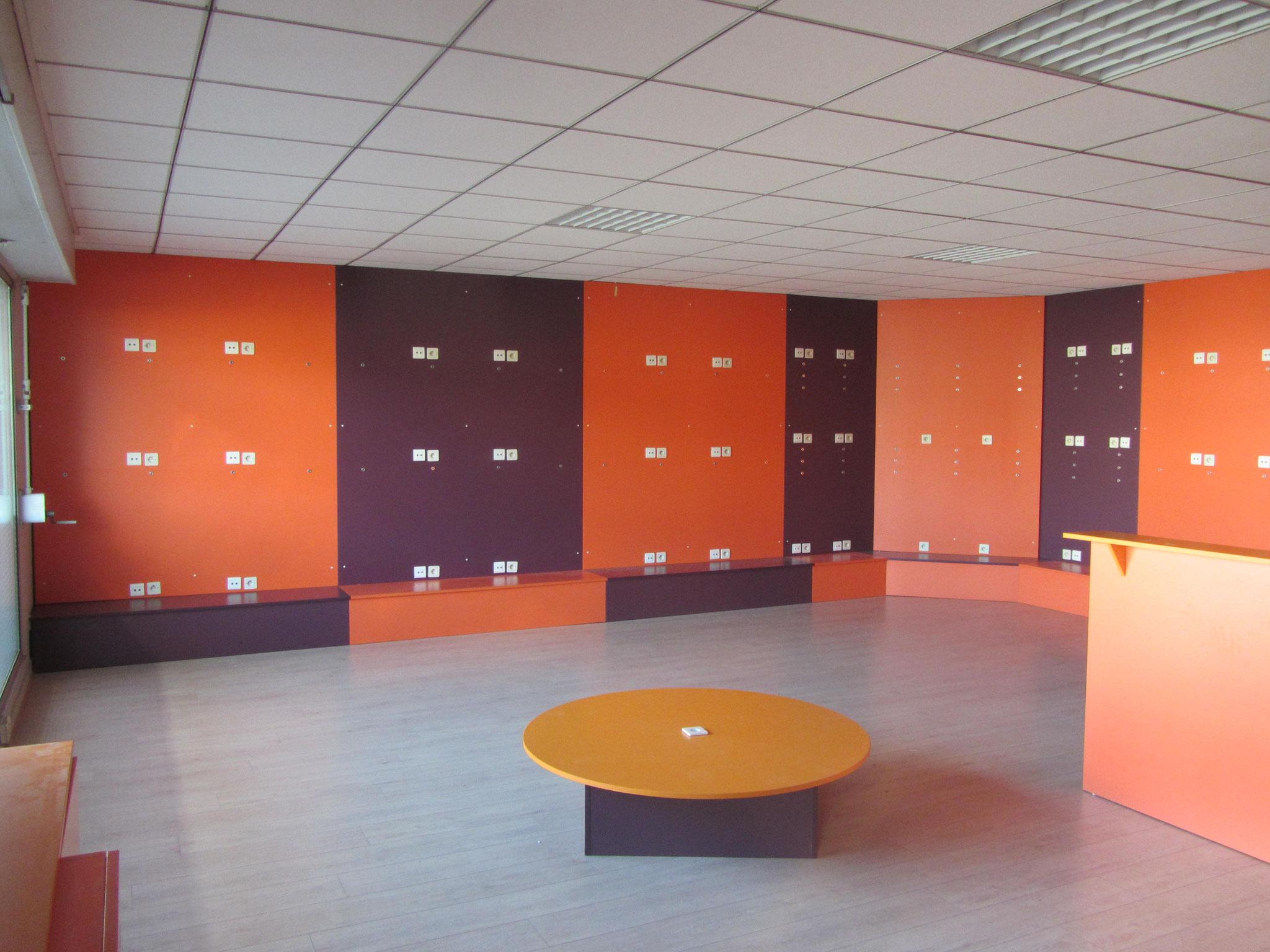 La salle d'Archimalt, avant les travaux