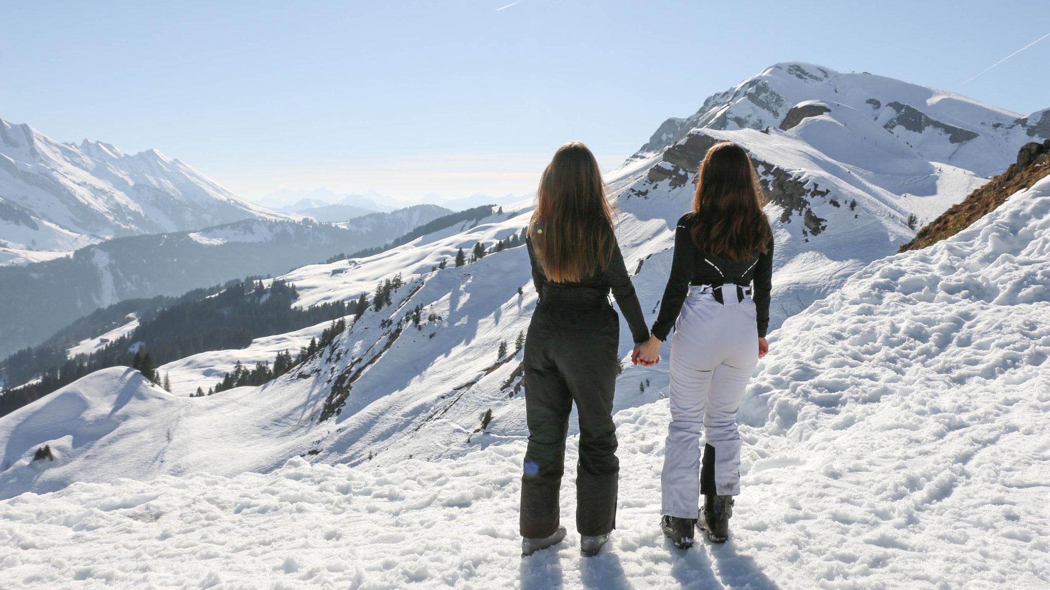 by Carmen Schubert Ski Mountains Alps France travel