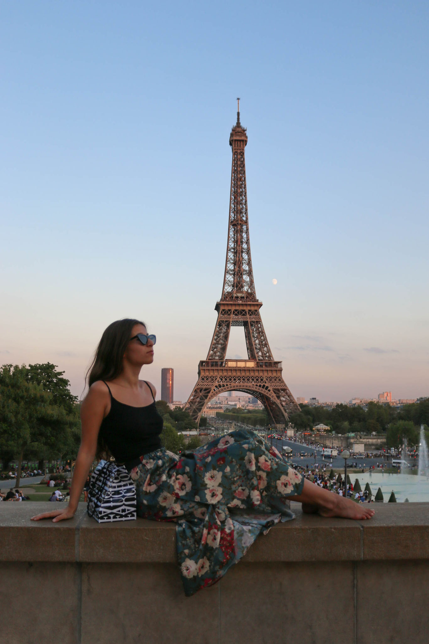 Paris, Tour Eiffel, Summeroutfit, Carmen Schubert