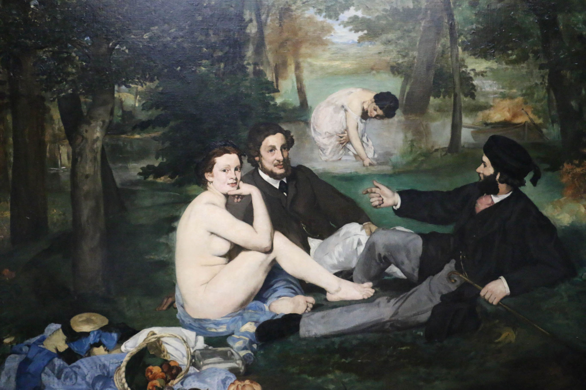 Travleblog, Paris, Art Museum Painting