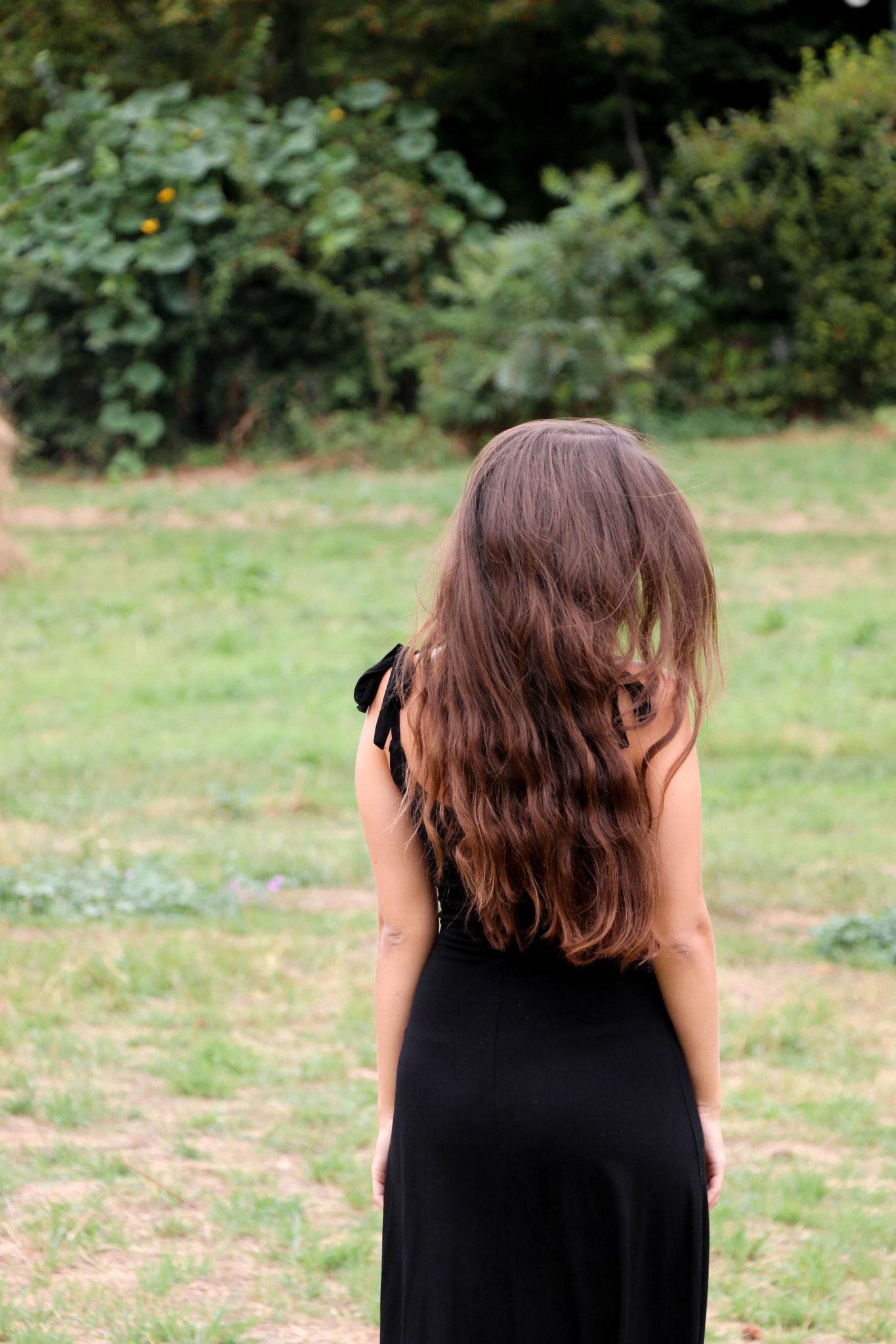by Carmen Schubert Giverny Paris Modeblog schwarzes Kleid H&M Zara