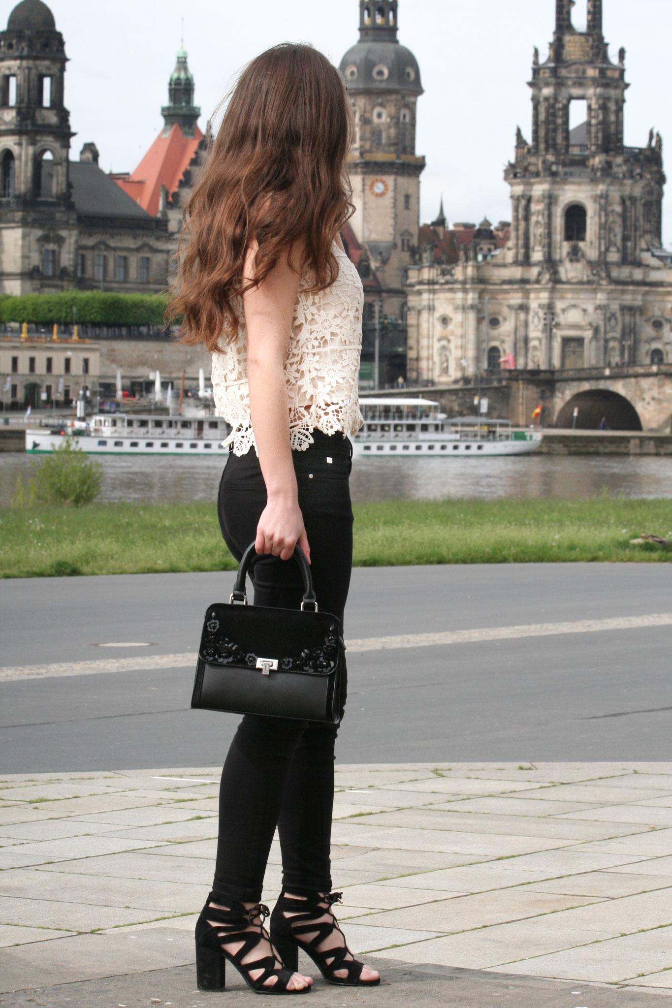Spitzentop Zara, Dresden, Carmen Schubert