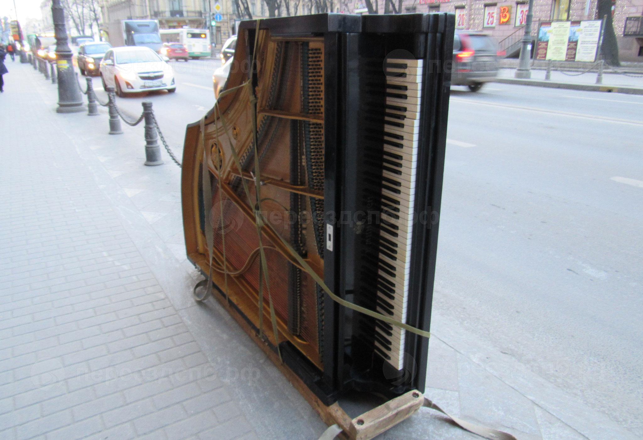 Перевозка пианино в СПб